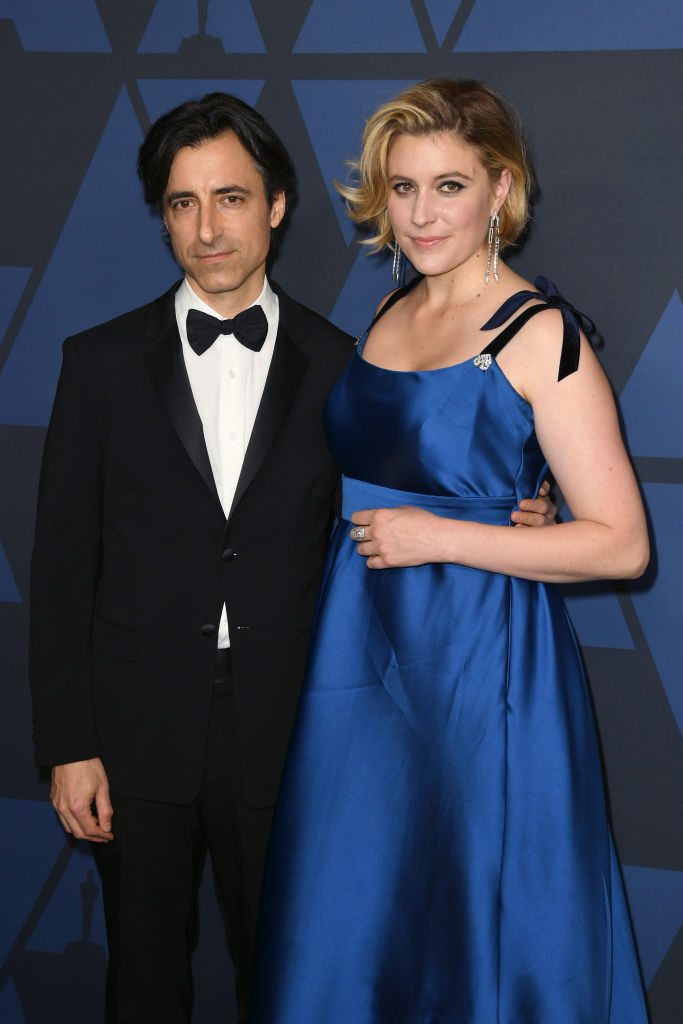 Noah Baumbach and Greta Gerwig attend the Academy Of Motion Picture Arts And Sciences' 11th Annual Governors Awards at The Ray Dolby Ballroom at Hollywood & Highland Center in Hollywood, California. (Photo by Kevin Winter/Getty Images)