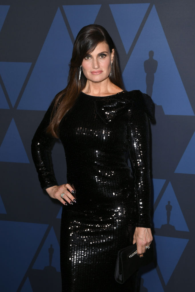 Idina Menzel attends the Academy Of Motion Picture Arts And Sciences' 11th Annual Governors Awards at The Ray Dolby Ballroom at Hollywood & Highland Center in Hollywood, California. (Photo by Kevin Winter/Getty Images)