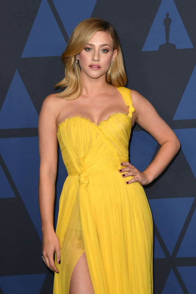 Lili Reinhart attends the Academy Of Motion Picture Arts And Sciences' 11th Annual Governors Awards at The Ray Dolby Ballroom at Hollywood & Highland Center in Hollywood, California. (Photo by Kevin Winter/Getty Images)