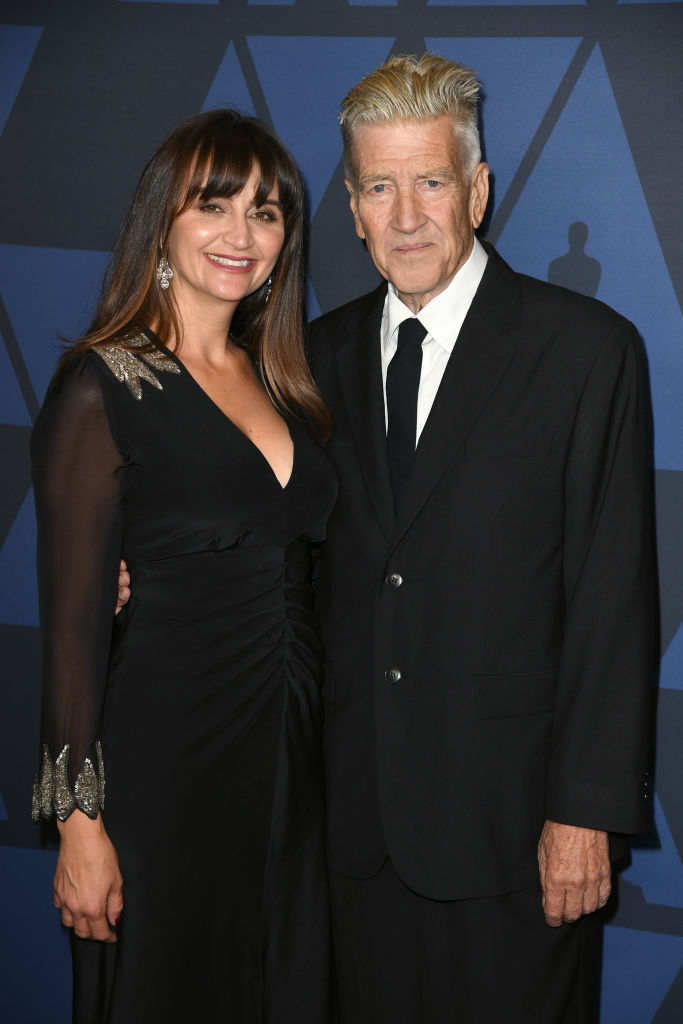 (L-R) Emily Lynch and David Lynch attend the Academy Of Motion Picture Arts And Sciences' 11th Annual Governors Awards at The Ray Dolby Ballroom at Hollywood & Highland Center in Hollywood, California. (Photo by Kevin Winter/Getty Images)