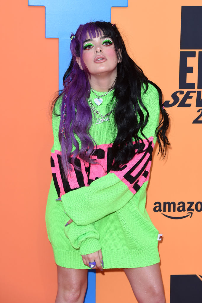 Rosalba Andolfi attends the MTV EMAs 2019 at FIBES Conference and Exhibition Centre on November 03, 2019 in Seville, Spain. (Photo by Kate Green/Getty Images for MTV)