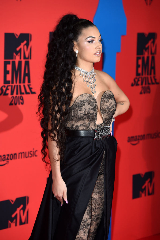 Mabel attends the MTV EMAs 2019 at FIBES Conference and Exhibition Centre on November 03, 2019 in Seville, Spain. (Photo by Kate Green/Getty Images for MTV)