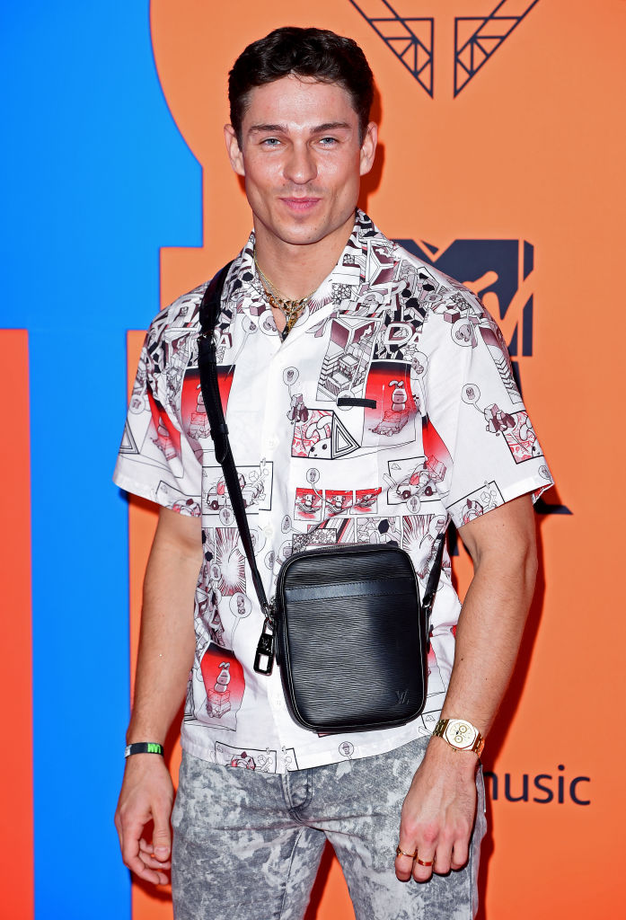 Joey Essex attends the MTV EMAs 2019 at FIBES Conference and Exhibition Centre on November 03, 2019 in Seville, Spain. (Photo by Kate Green/Getty Images for MTV)