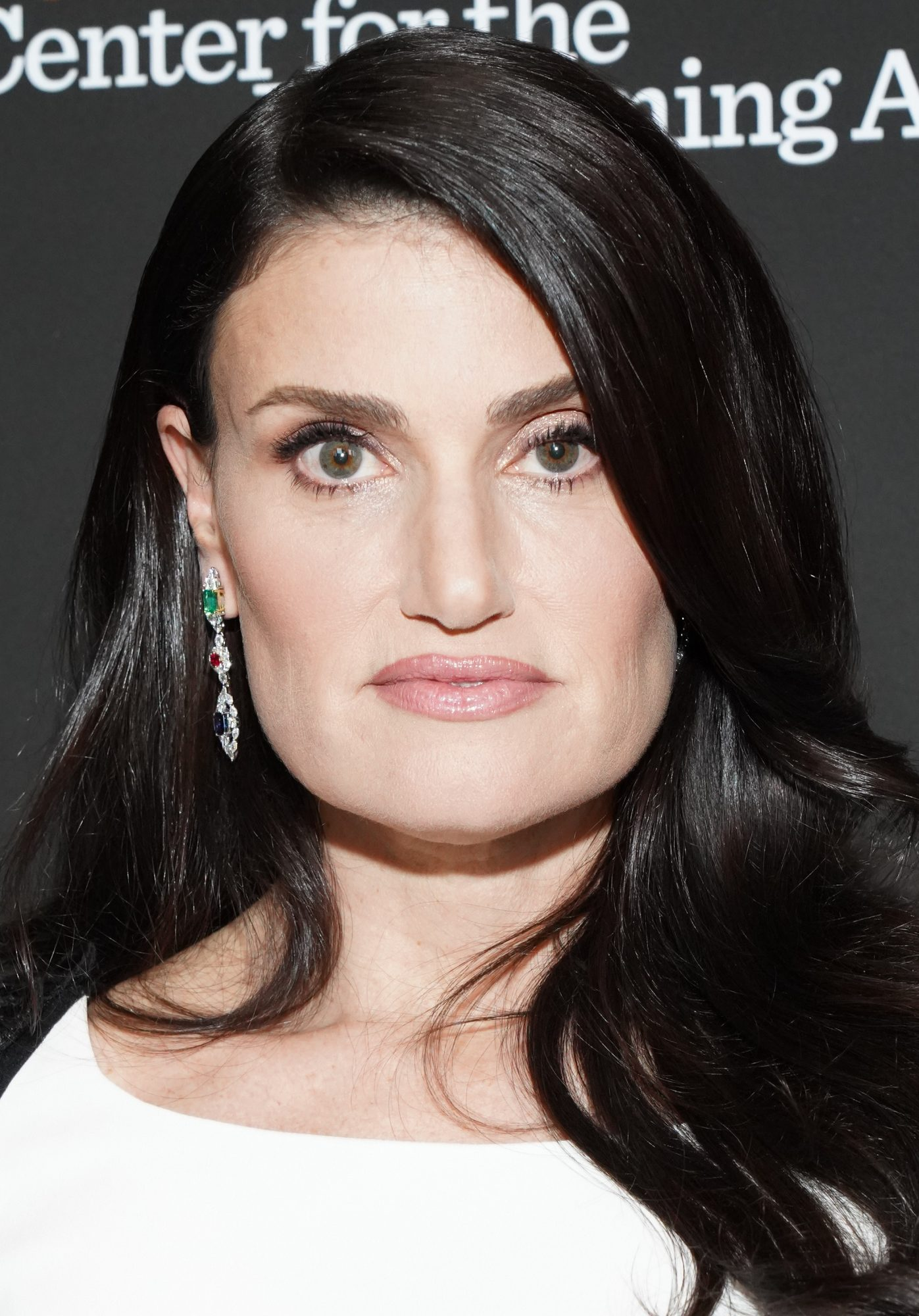 "BEVERLY HILLS, CALIFORNIA - MAY 16: Idina Menzel attends the Wallis Annenberg Center for the Performing Arts Spring Celebration ""An Evening of Wicked Fun"" honoring Stephen Schwartz at Wallis Annenberg Center for the Performing Arts on May 16, 2019 in Beverly Hills, California.  (Photo by Rachel Luna/Getty Images)"