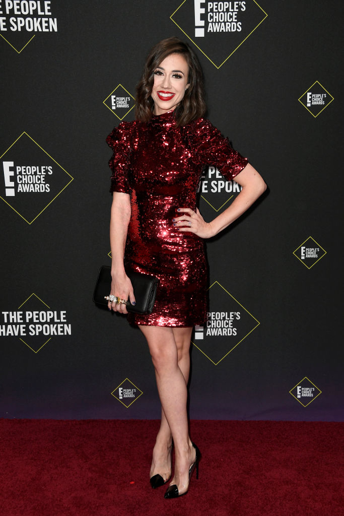Colleen Ballinger attends the 2019 E! People's Choice Awards at Barker Hangar on November 10, 2019 in Santa Monica, California. (Photo by Frazer Harrison/Getty Images)