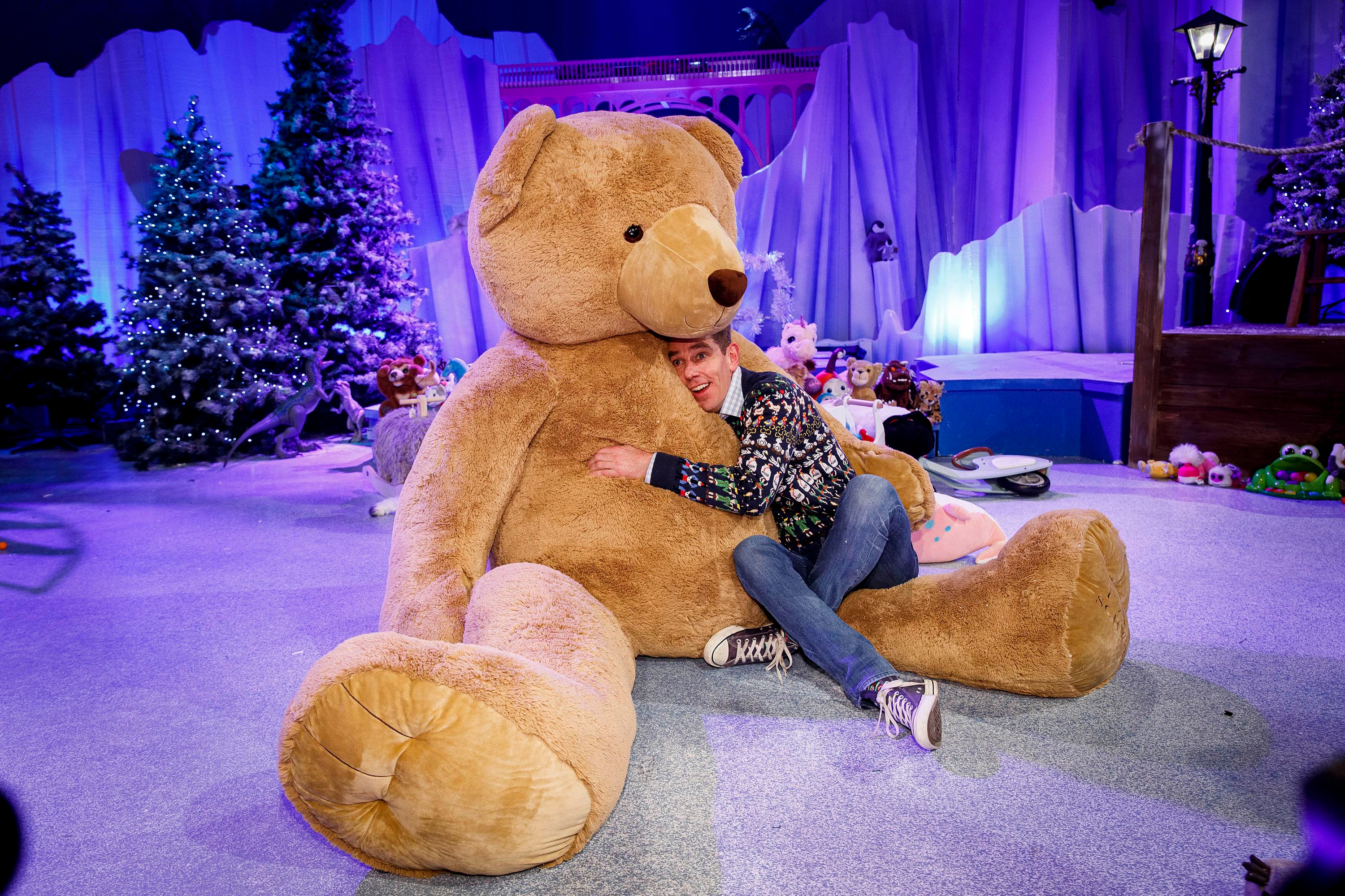 Ryan Tubridy pictured at the set reveal for The Late Late Toy Show 2019 which will take place on Friday 29th November at 9:35pm on RTÉ One. Picture: Andres Poveda