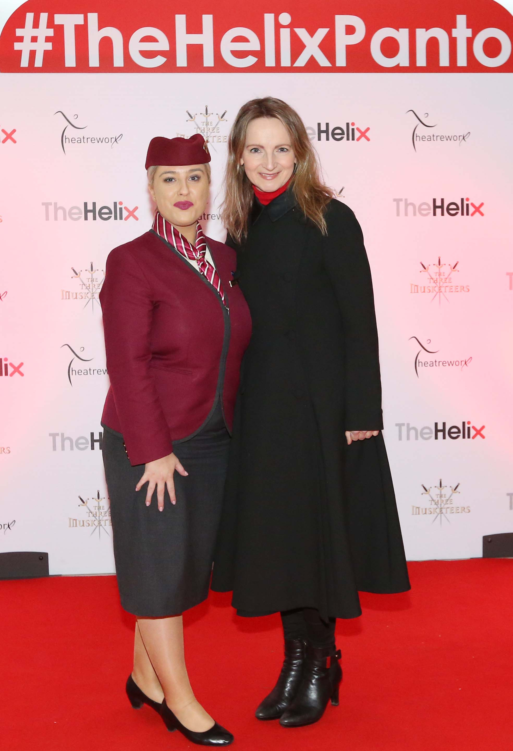 Pictured is Norma Sheahan with Michelle Gibbons at the opening night of The Three Musketeers at The Helix.  Photo: Sasko Lazarov/Photocall Ireland