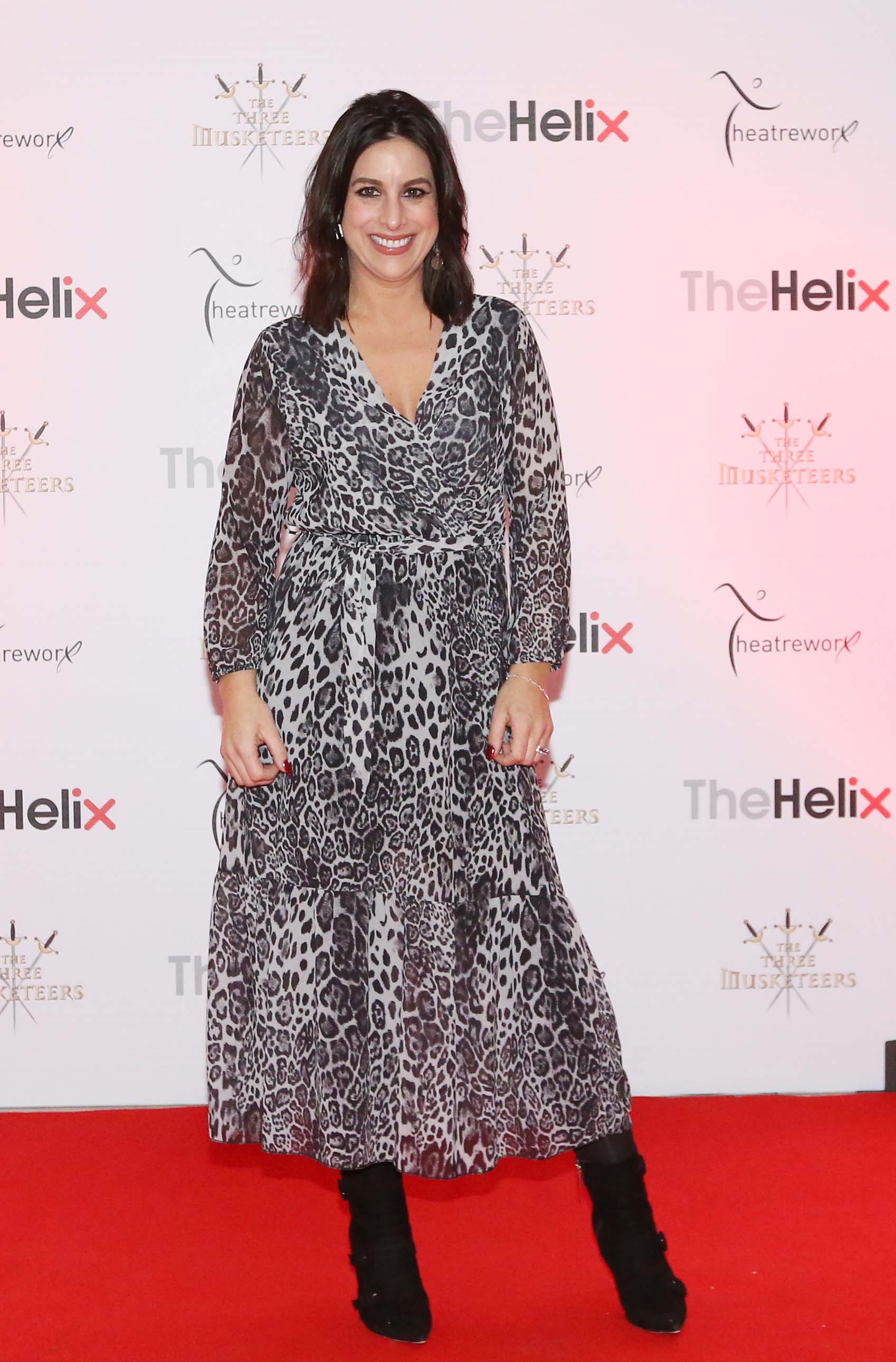 Pictured is Lucy Kennedy at the opening night of The Three Musketeers at The Helix.  Photo: Sasko Lazarov/Photocall Ireland