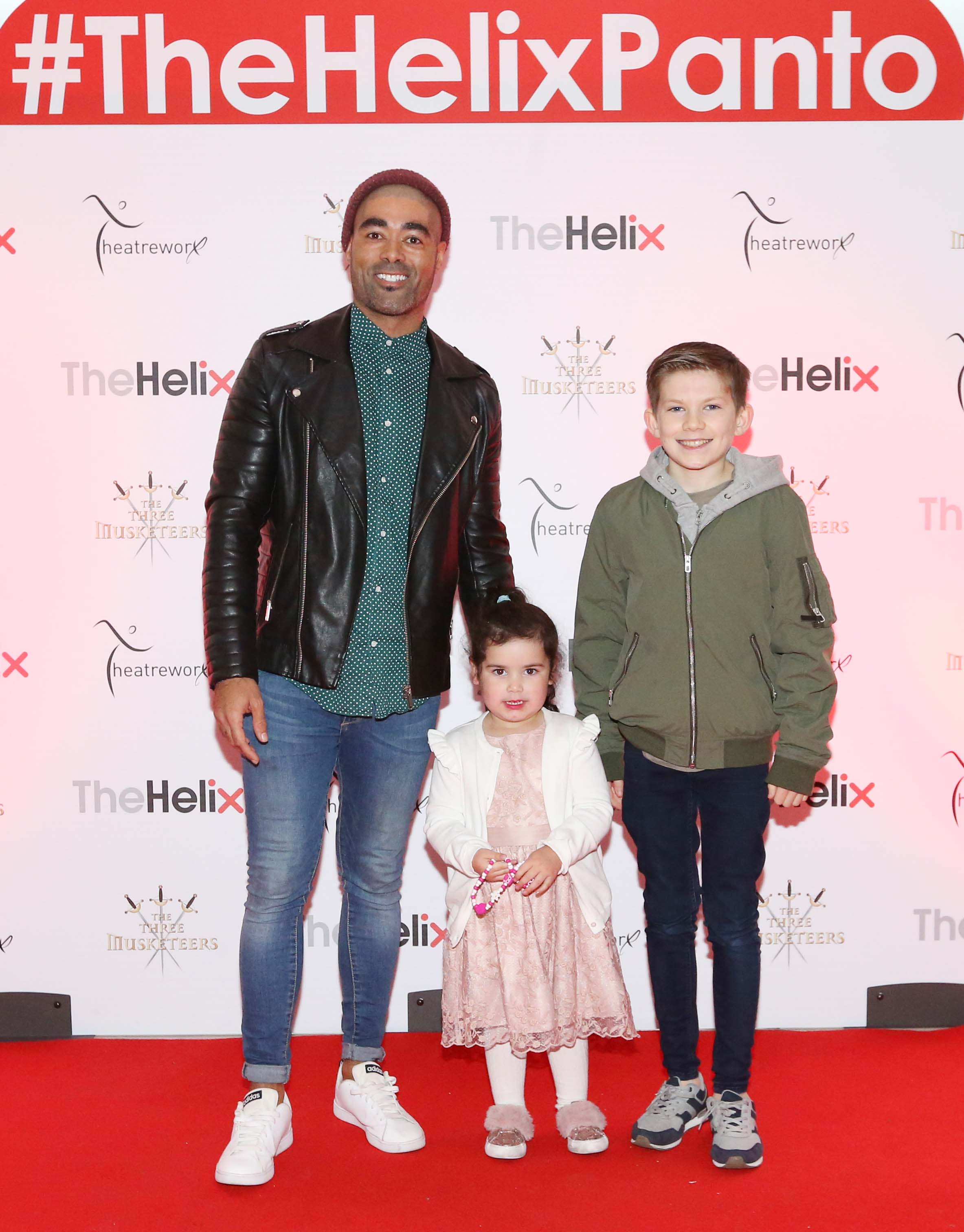 Pictured are (LtoR) Luke Thomas, Sean Lee and Frankie Lee at the opening night of The Three Musketeers at The Helix.  Photo: Sasko Lazarov/Photocall Ireland