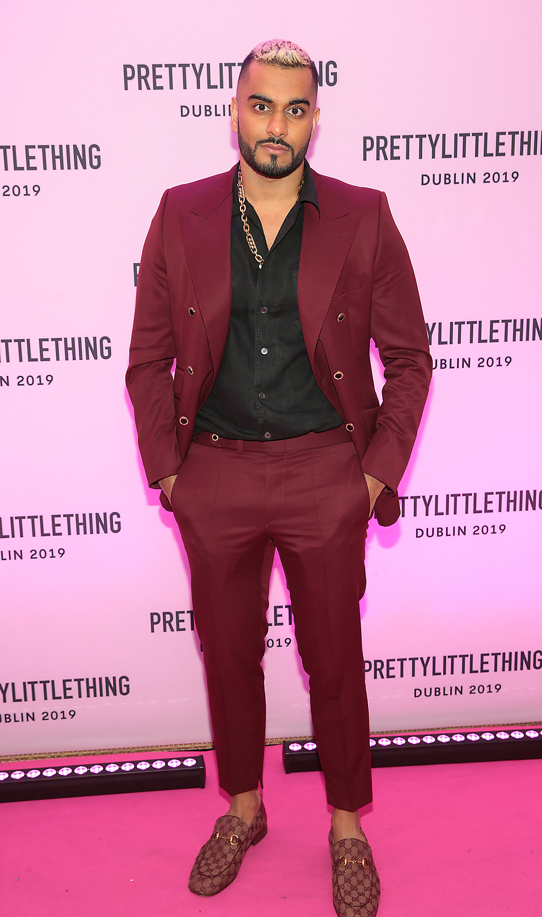 Umar Kamani in Dublin for the PrettyLittleThing launch party for Molly Mae Hague's new partywear Christmas Edit in Twenty Two, Dublin.  Picture: Brian McEvoy