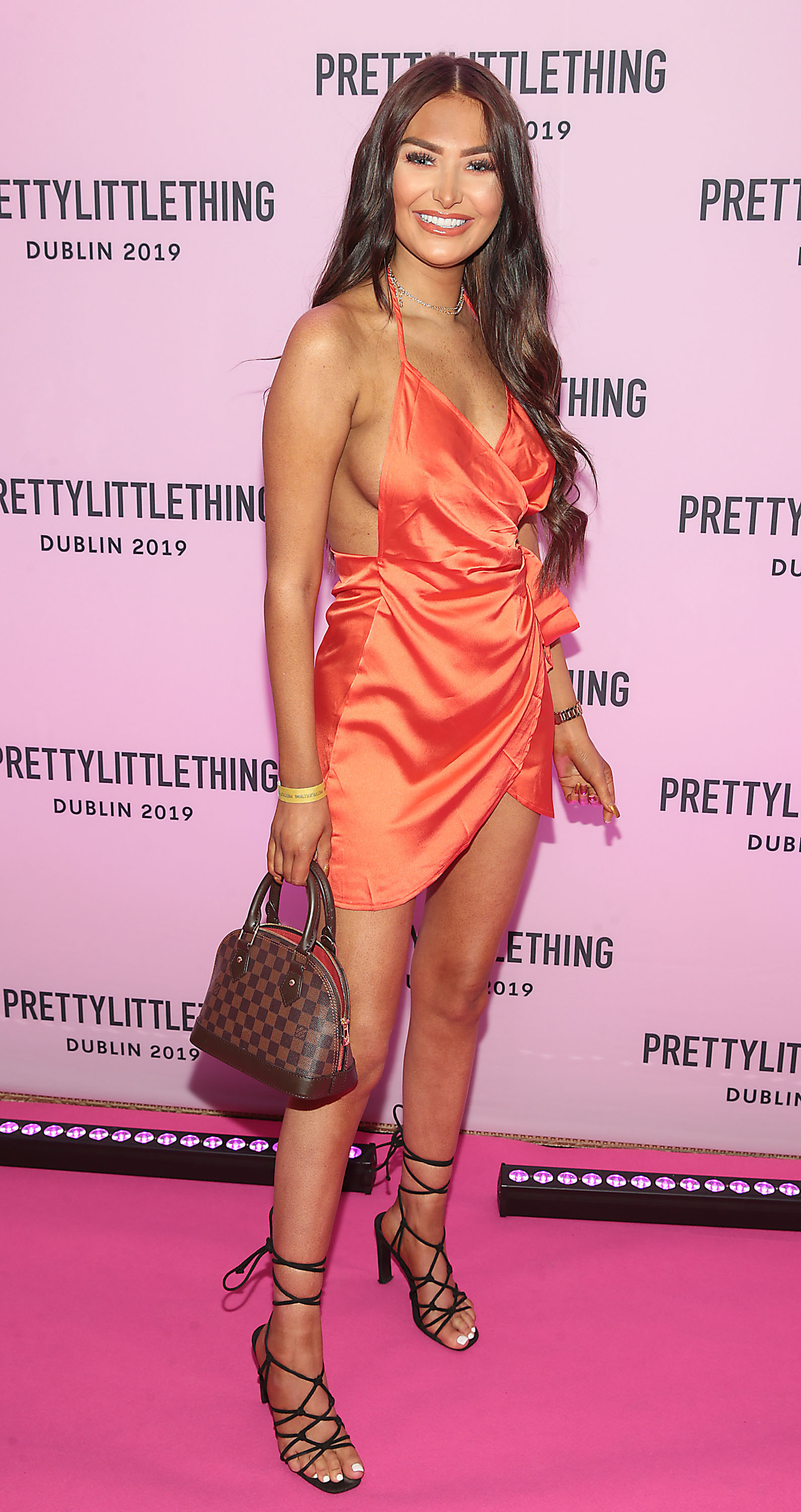 Amber Phillips at the PrettyLittleThing launch party for Molly Mae Hague's new Christmas Edit in Twenty Two, Dublin.  Picture: Brian McEvoy