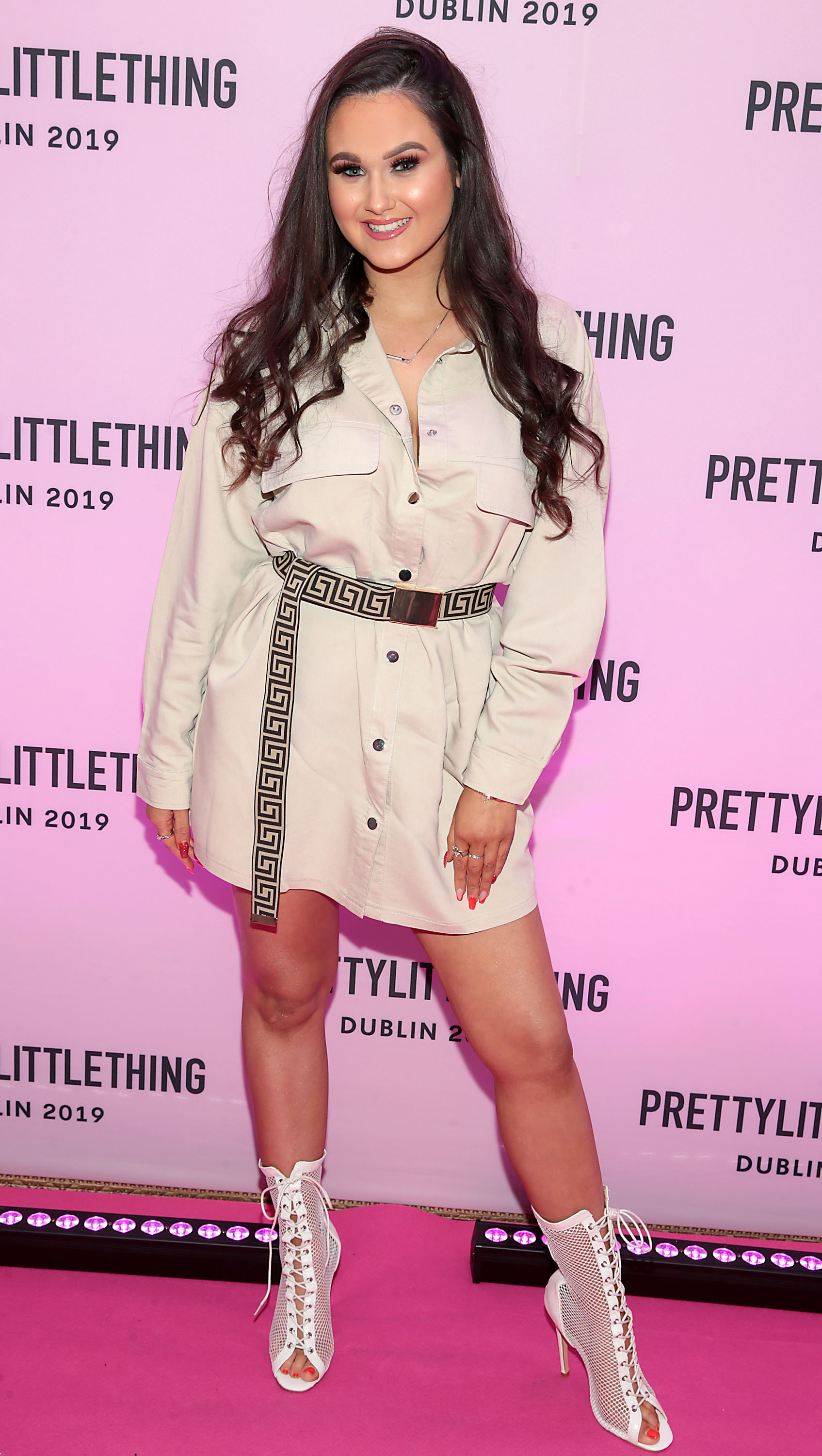 Ana Collins at the PrettyLittleThing launch party for Molly Mae Hague's new Christmas Edit in Twenty Two, Dublin.  Picture: Brian McEvoy