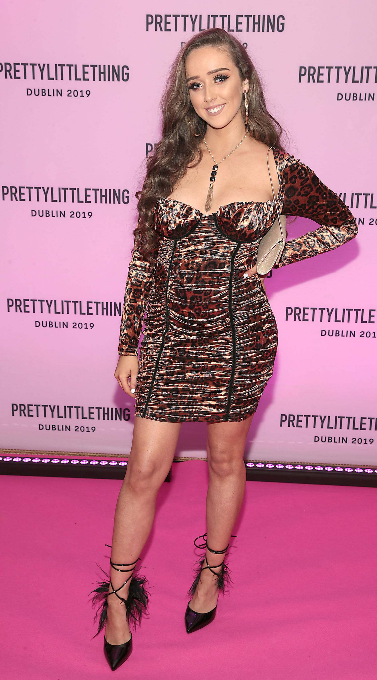 Ciara Crosby at the PrettyLittleThing launch party for Molly Mae Hague's new Christmas Edit in Twenty Two, Dublin.  Picture: Brian McEvoy