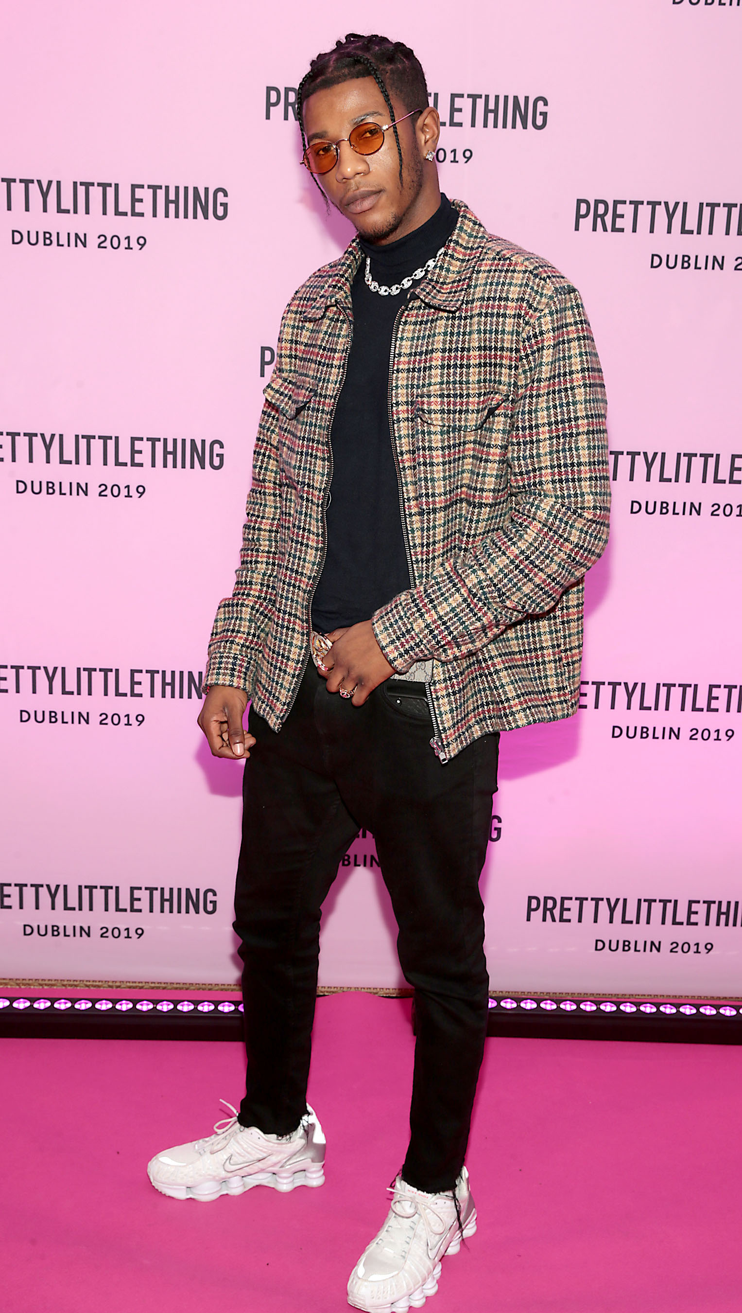 Denzel Nwakor at the PrettyLittleThing launch party for Molly Mae Hague's new Christmas Edit in Twenty Two, Dublin.  Picture: Brian McEvoy