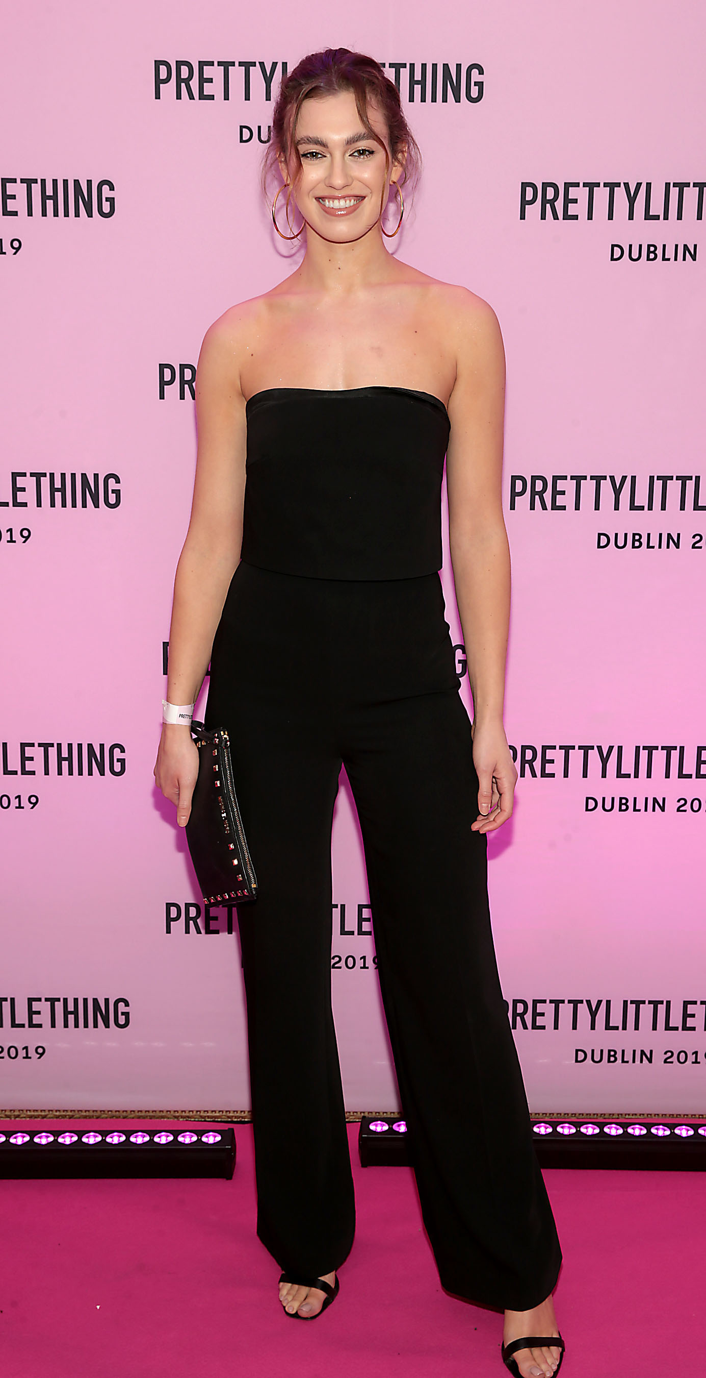 Caoimhe O Dwyer at the PrettyLittleThing launch party for Molly Mae Hague's new Christmas Edit in Twenty Two, Dublin.  Picture: Brian McEvoy