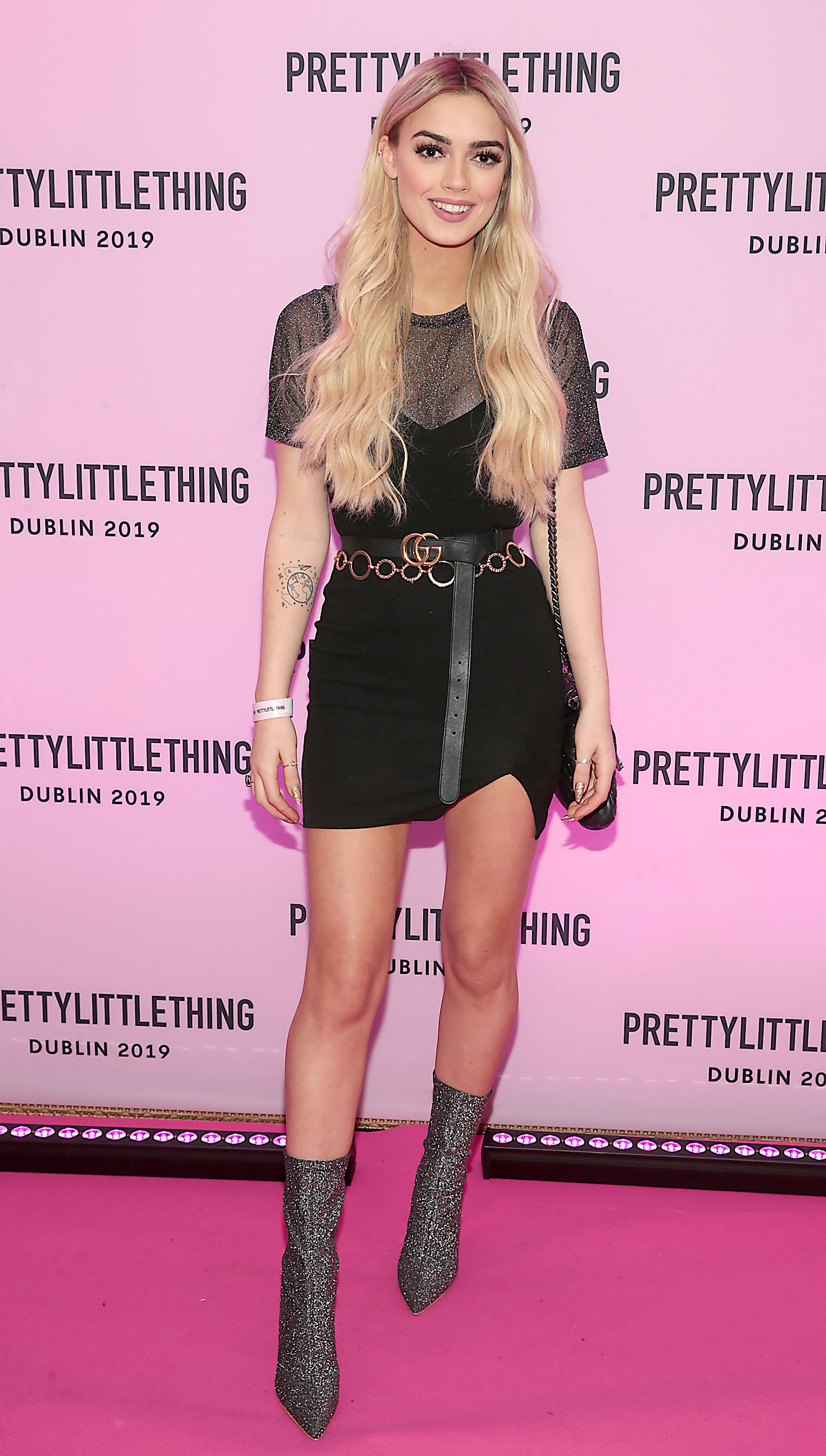 Jo Archbold at the PrettyLittleThing launch party for Molly Mae Hague's new Christmas Edit in Twenty Two, Dublin.  Picture: Brian McEvoy