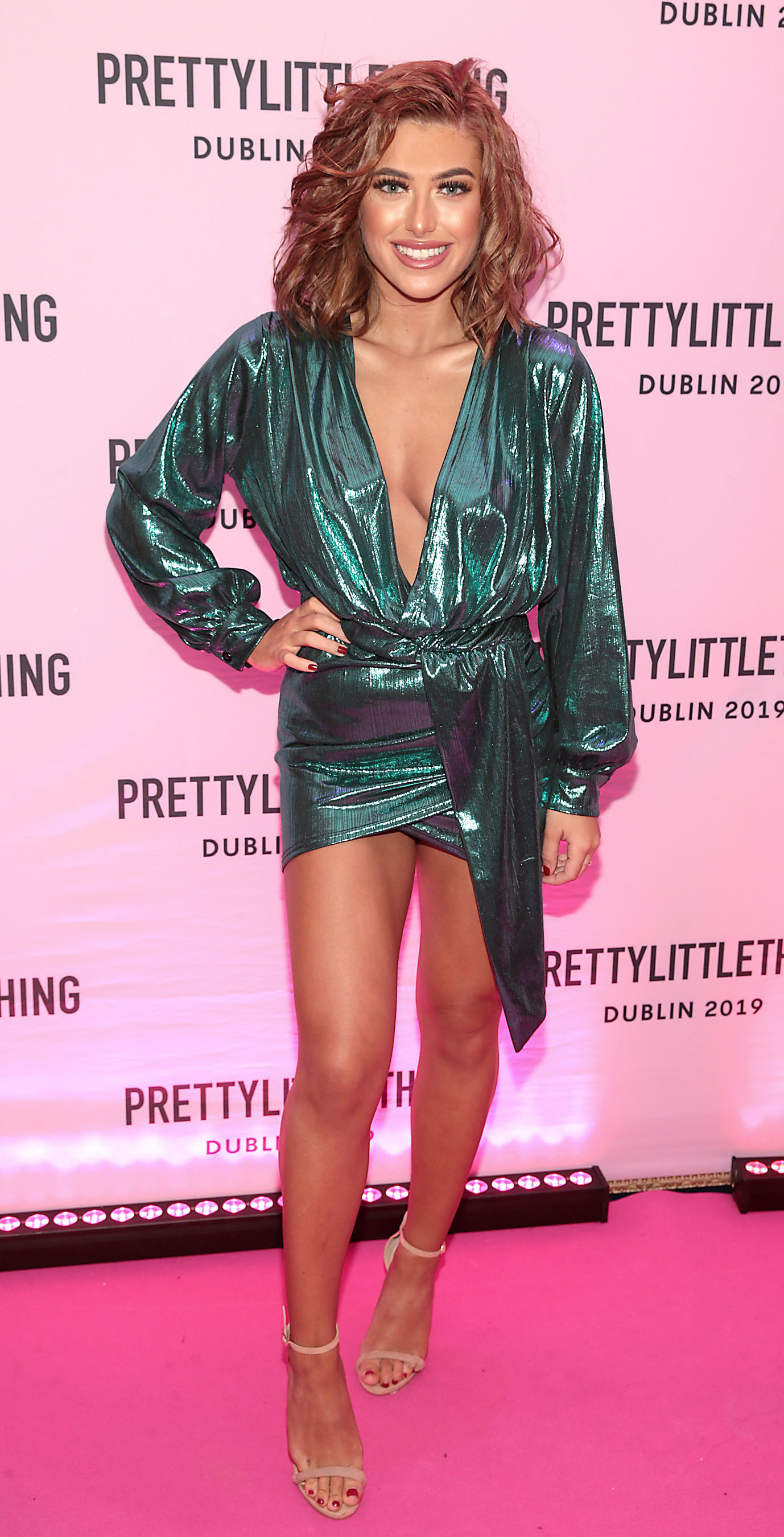Chloe Ormond at the PrettyLittleThing launch party for Molly Mae Hague's new Christmas Edit in Twenty Two, Dublin.  Picture: Brian McEvoy