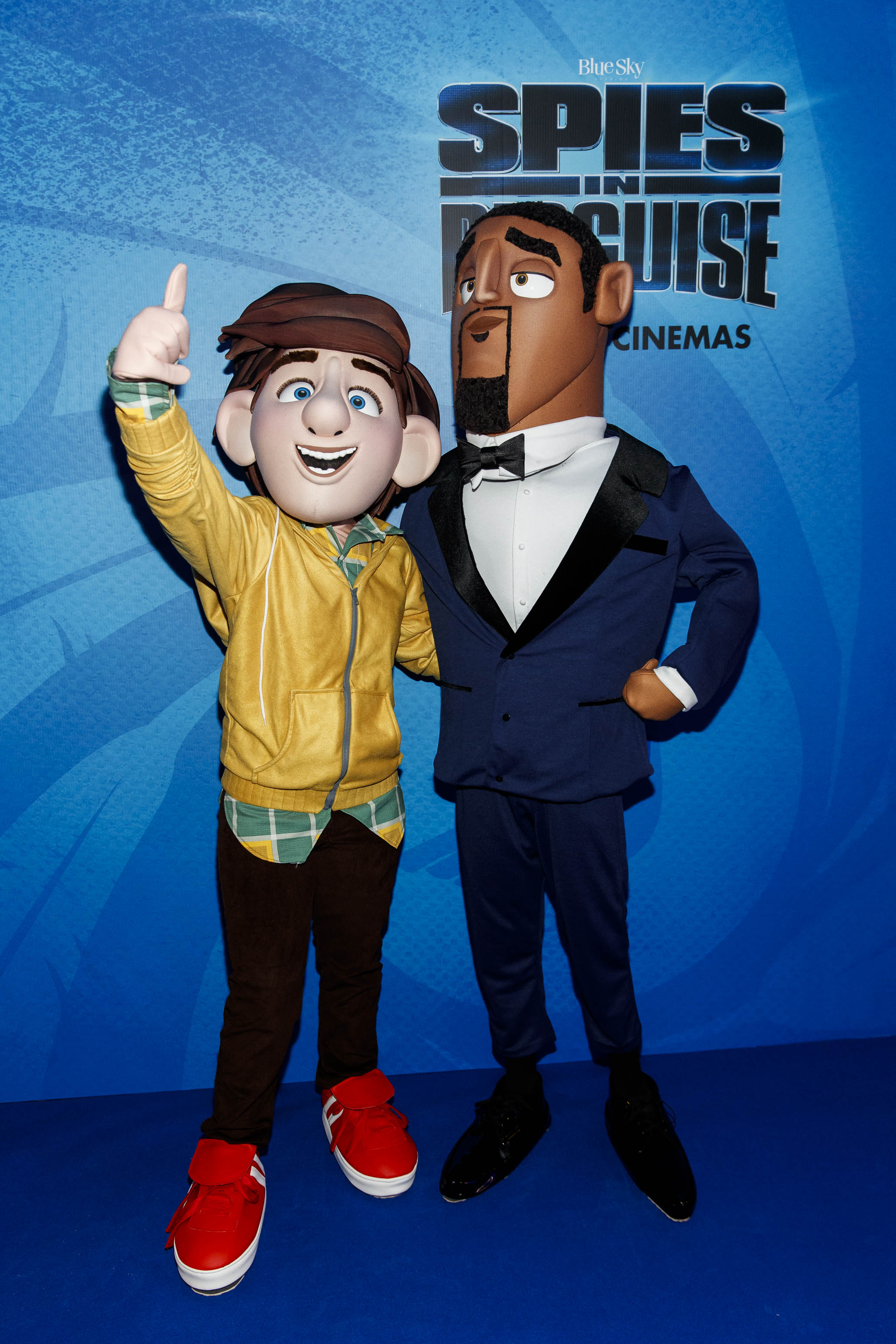 The special preview screening of SPIES IN DISGUISE in Cineworld. Picture: Andres Poveda