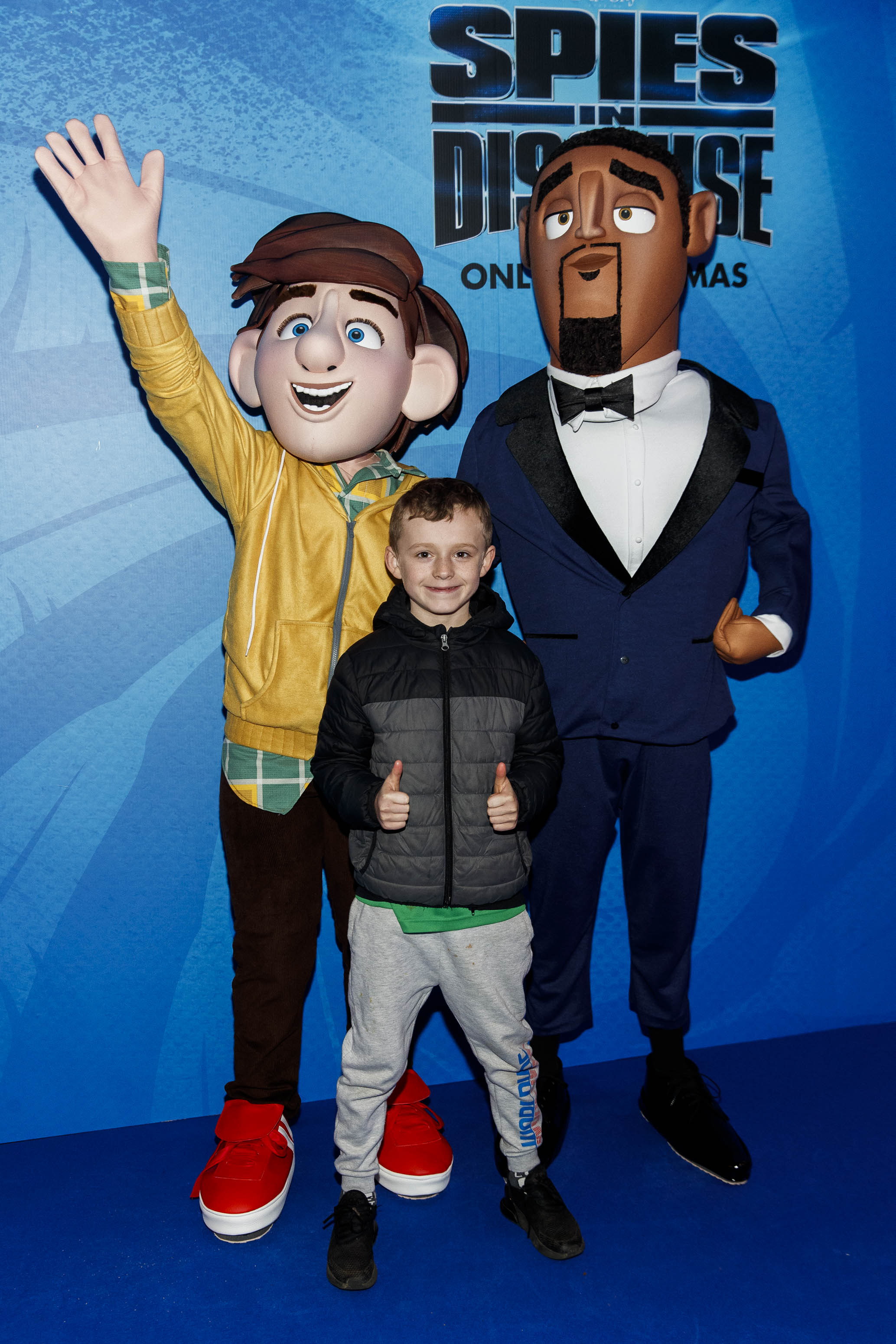 Dylan Whelehan (8) pictured at the special preview screening of SPIES IN DISGUISE in Cineworld.  Picture: Andres Poveda