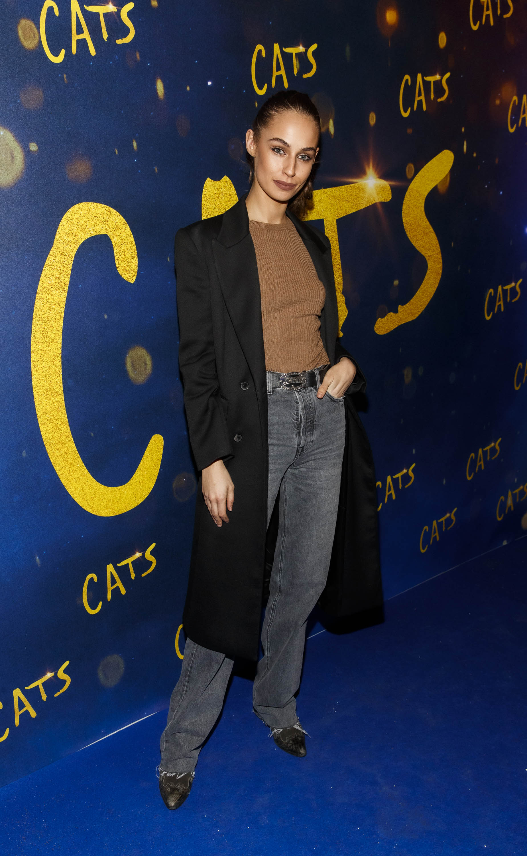 Thalia Heffernan pictured at the Irish premiere screening of 'Cats' at The Stella Theatre, Rathmines. Picture: Andres Poveda