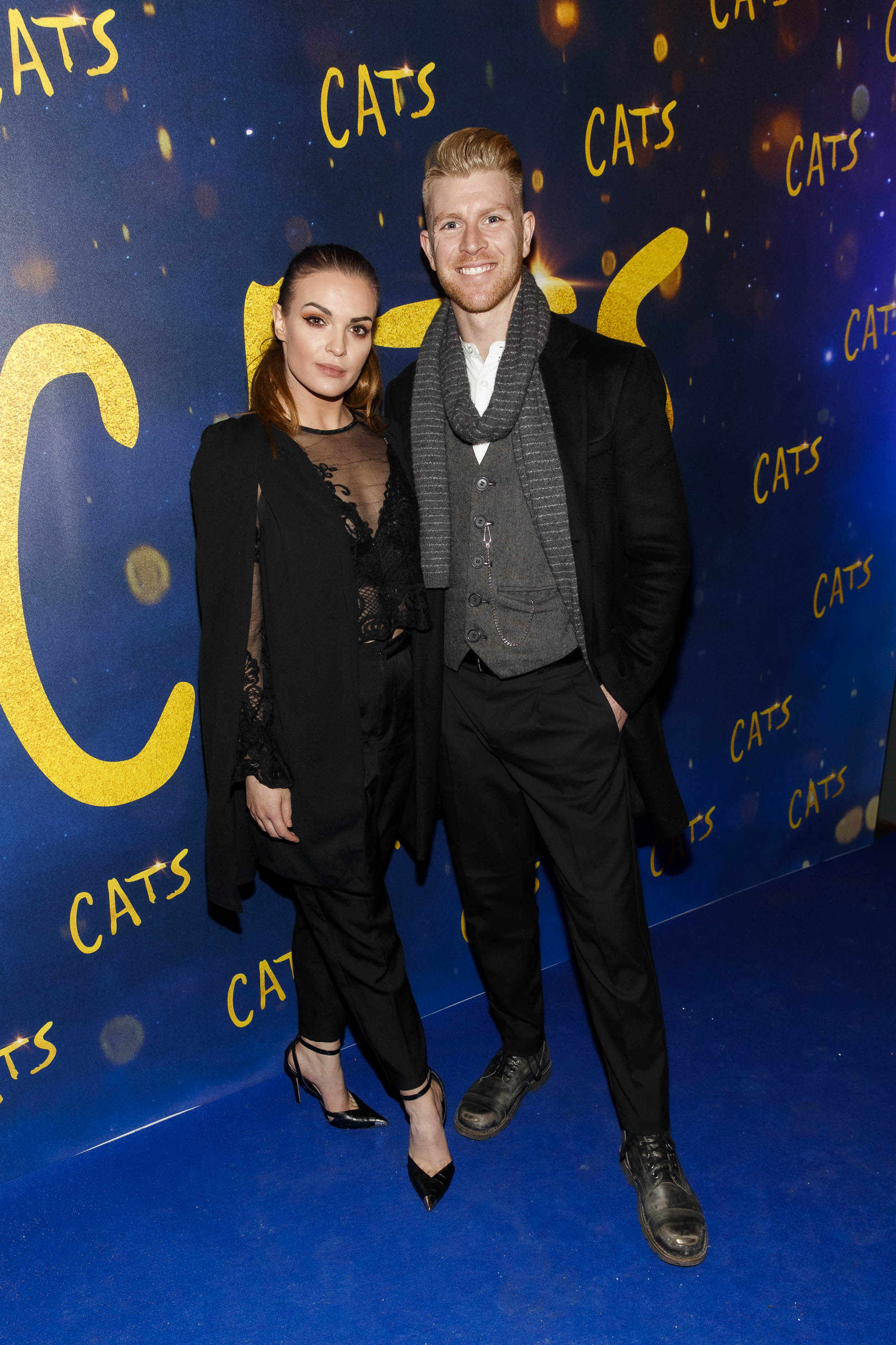 Kylee and Stephen Vincent pictured at the Irish premiere screening of 'Cats' at The Stella Theatre, Rathmines. Picture: Andres Poveda