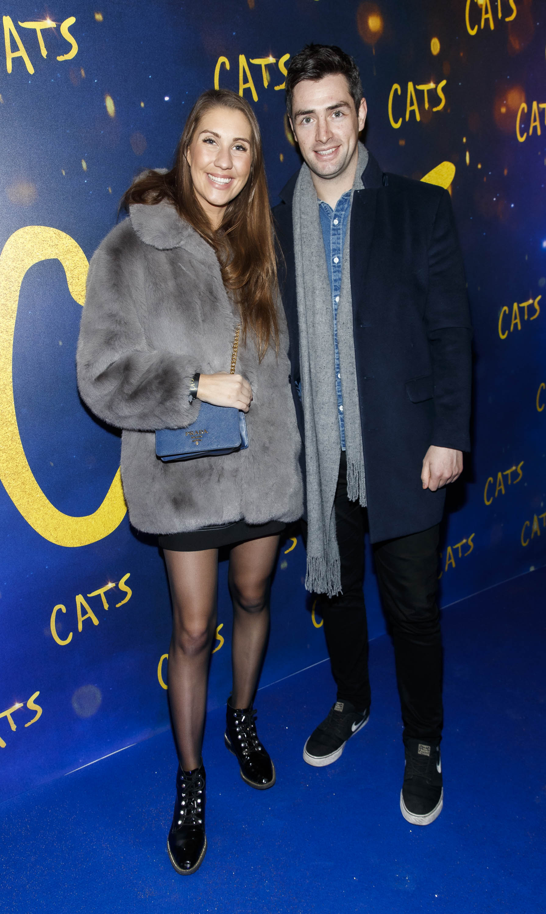 Clementine MacNeice and Jamie Lynch pictured at the Irish premiere screening of 'Cats' at The Stella Theatre, Rathmines. Picture: Andres Poveda