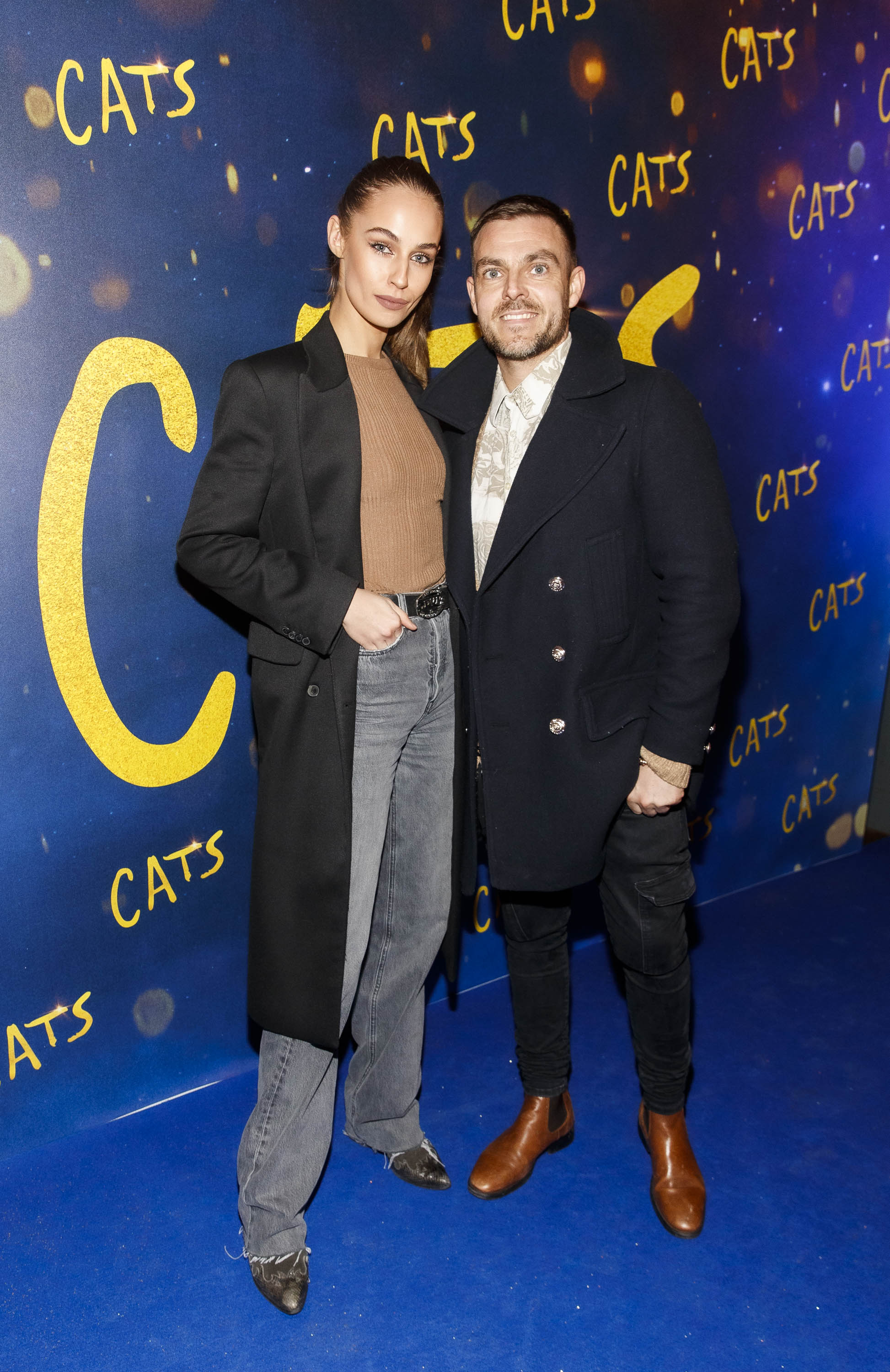 Thalia Heffernan and Ryan McShane pictured at the Irish premiere screening of 'Cats' at The Stella Theatre, Rathmines. Picture: Andres Poveda