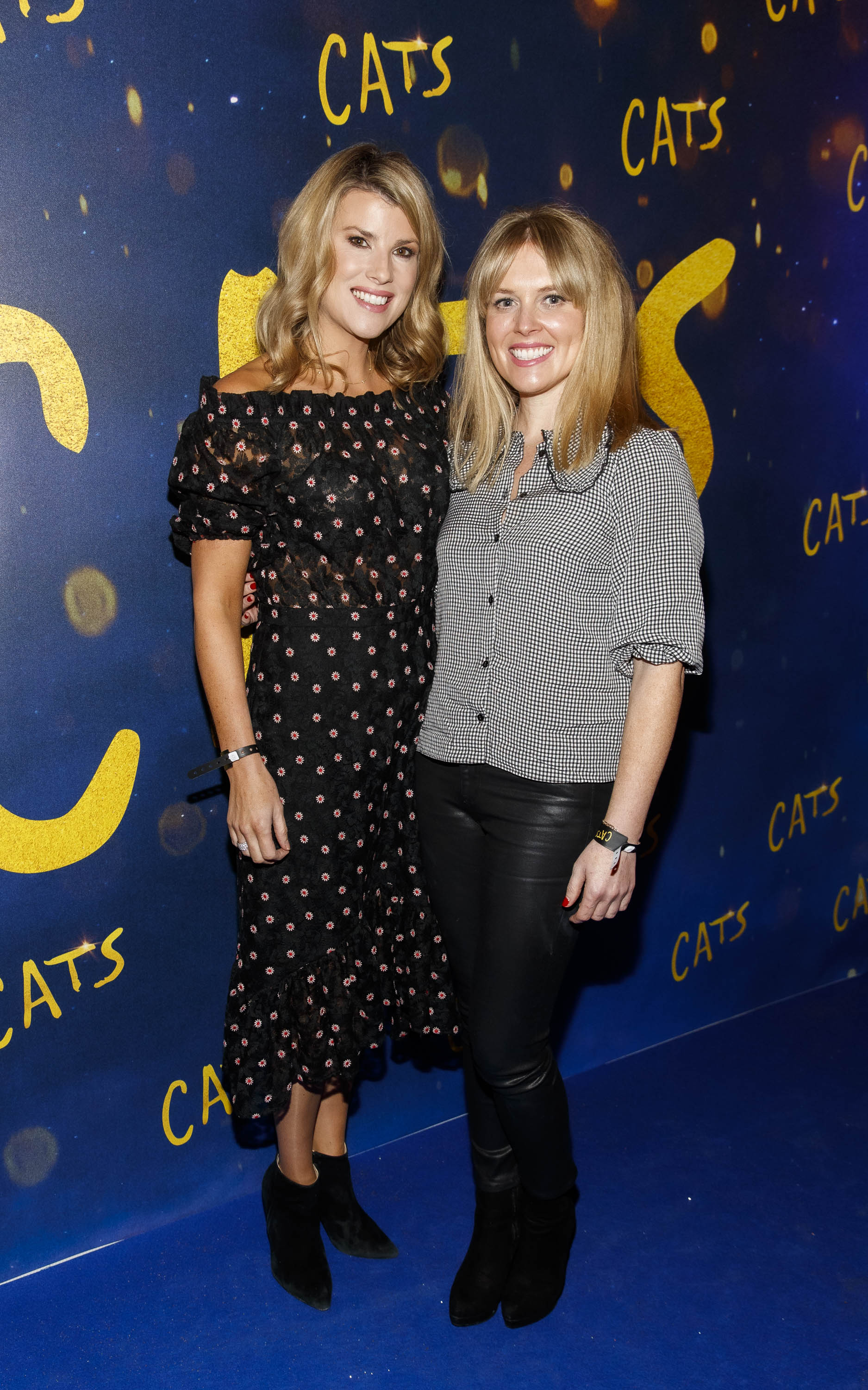 Jenny Buckley and Amy Crighton pictured at the Irish premiere screening of 'Cats' at The Stella Theatre, Rathmines. Picture: Andres Poveda