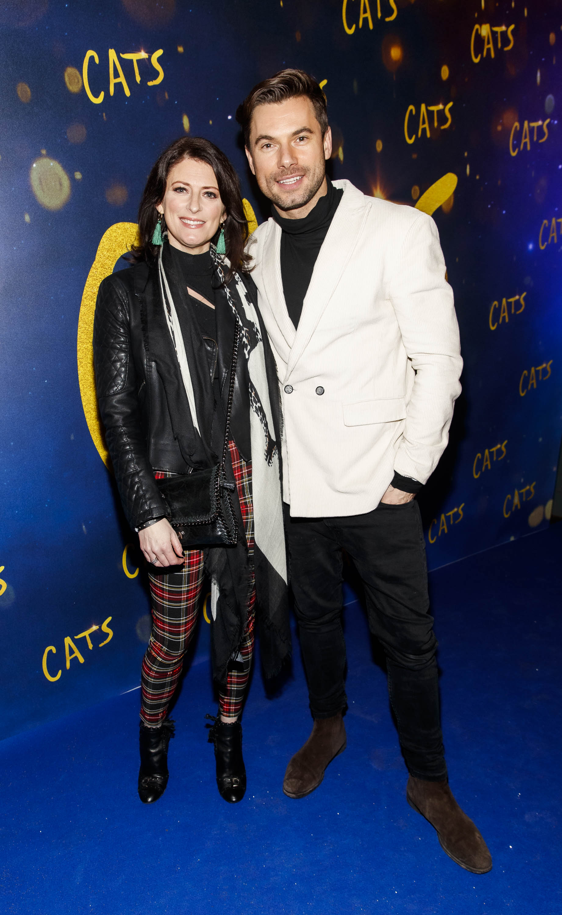 Sinead O Carroll and Robert Rowinski pictured at the Irish premiere screening of 'Cats' at The Stella Theatre, Rathmines. Picture: Andres Poveda
