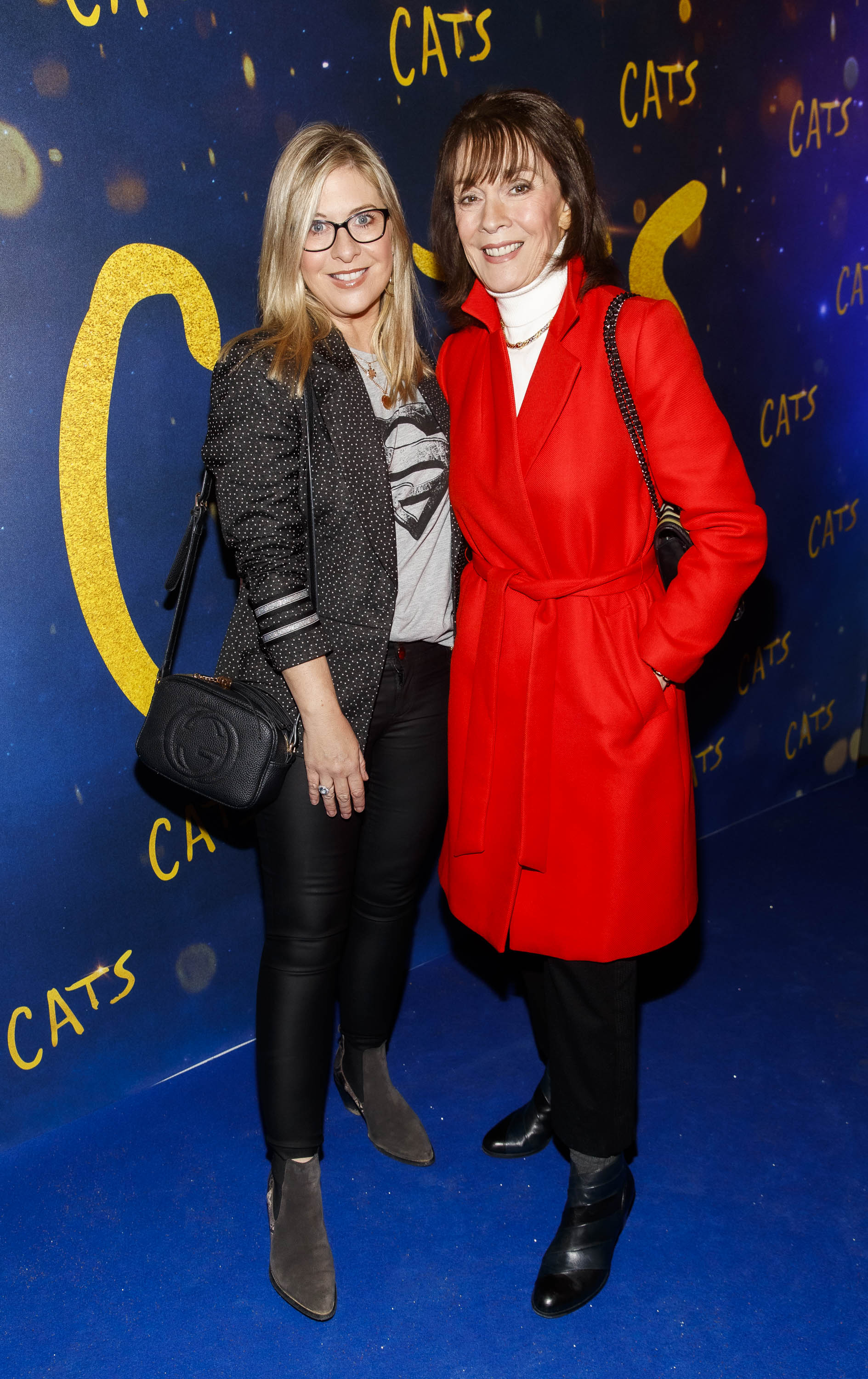 Laura Woods and Pauline Woods pictured at the Irish premiere screening of 'Cats' at The Stella Theatre, Rathmines. Picture: Andres Poveda