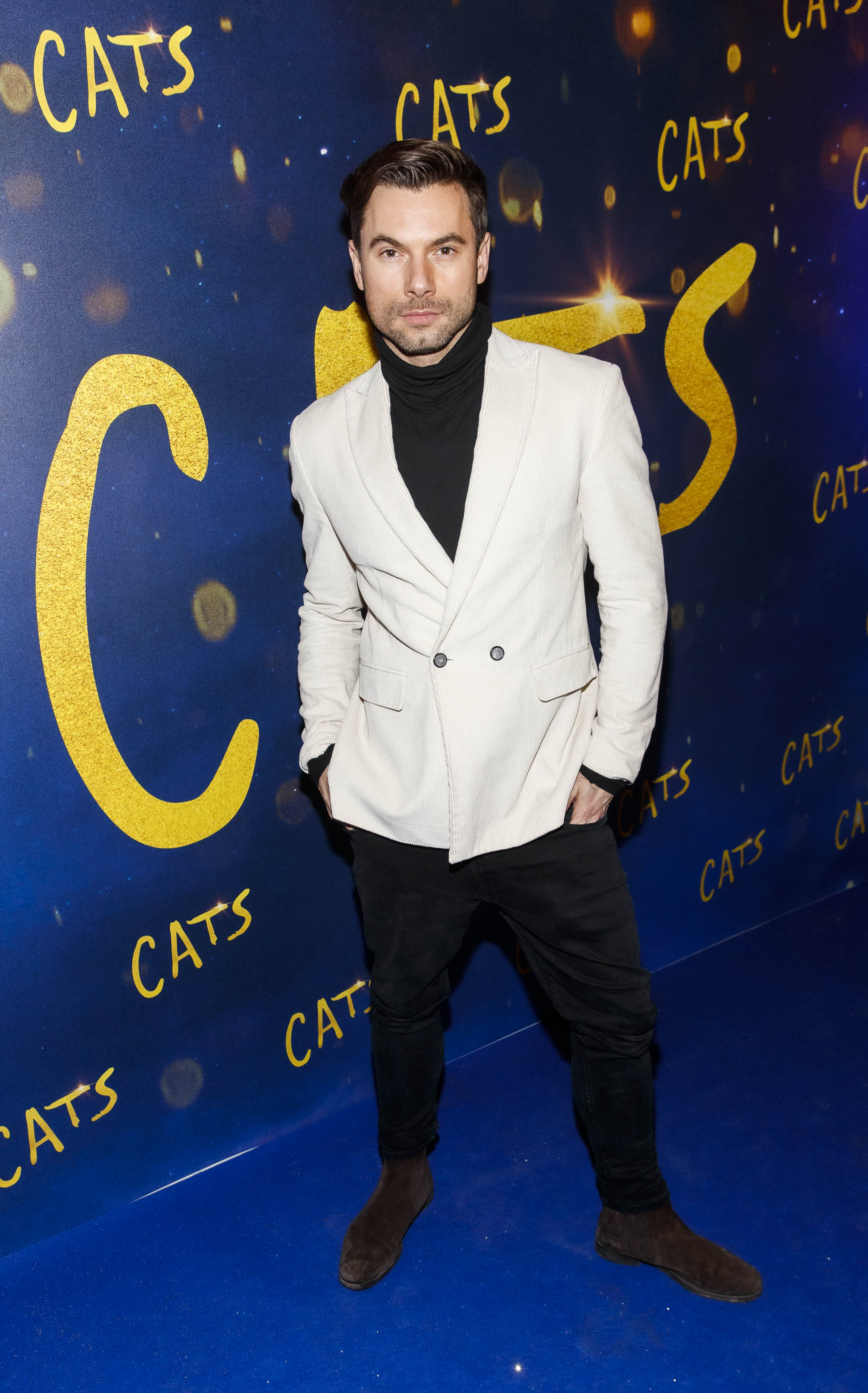 Robert Rowinski pictured at the Irish premiere screening of 'Cats' at The Stella Theatre, Rathmines. Picture: Andres Poveda