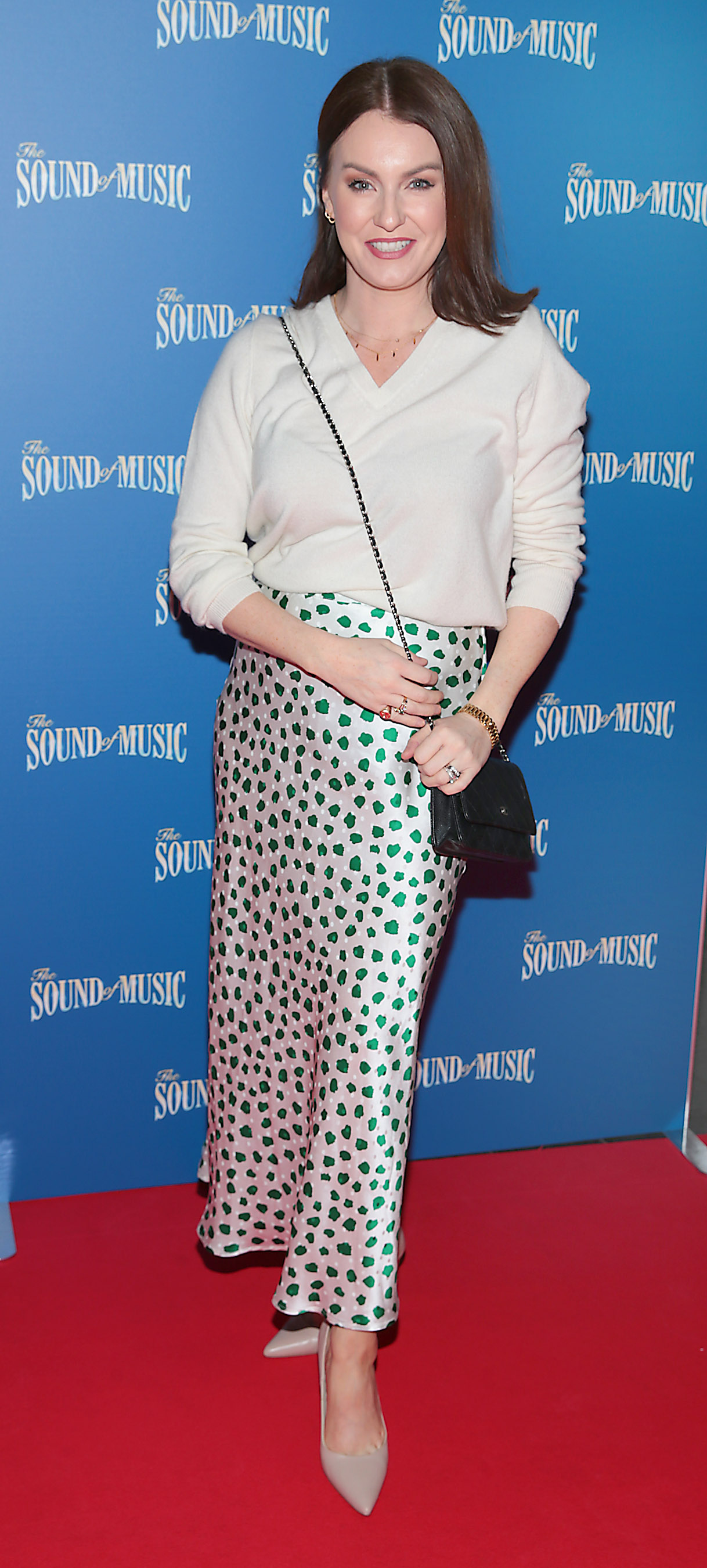 Mairead Ronan pictured at the opening night of The Sound of Music at the Bord Gais Energy Theatre, Dublin. Pic Brian McEvoy