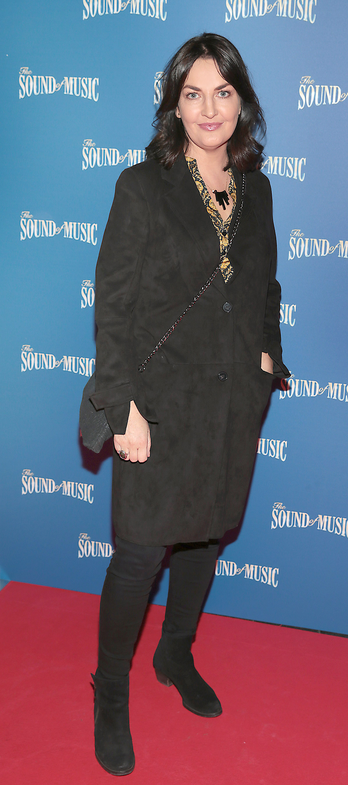 Ciara O Callaghan pictured at the opening night of The Sound of Music at the Bord Gais Energy Theatre, Dublin. Pic Brian McEvoy