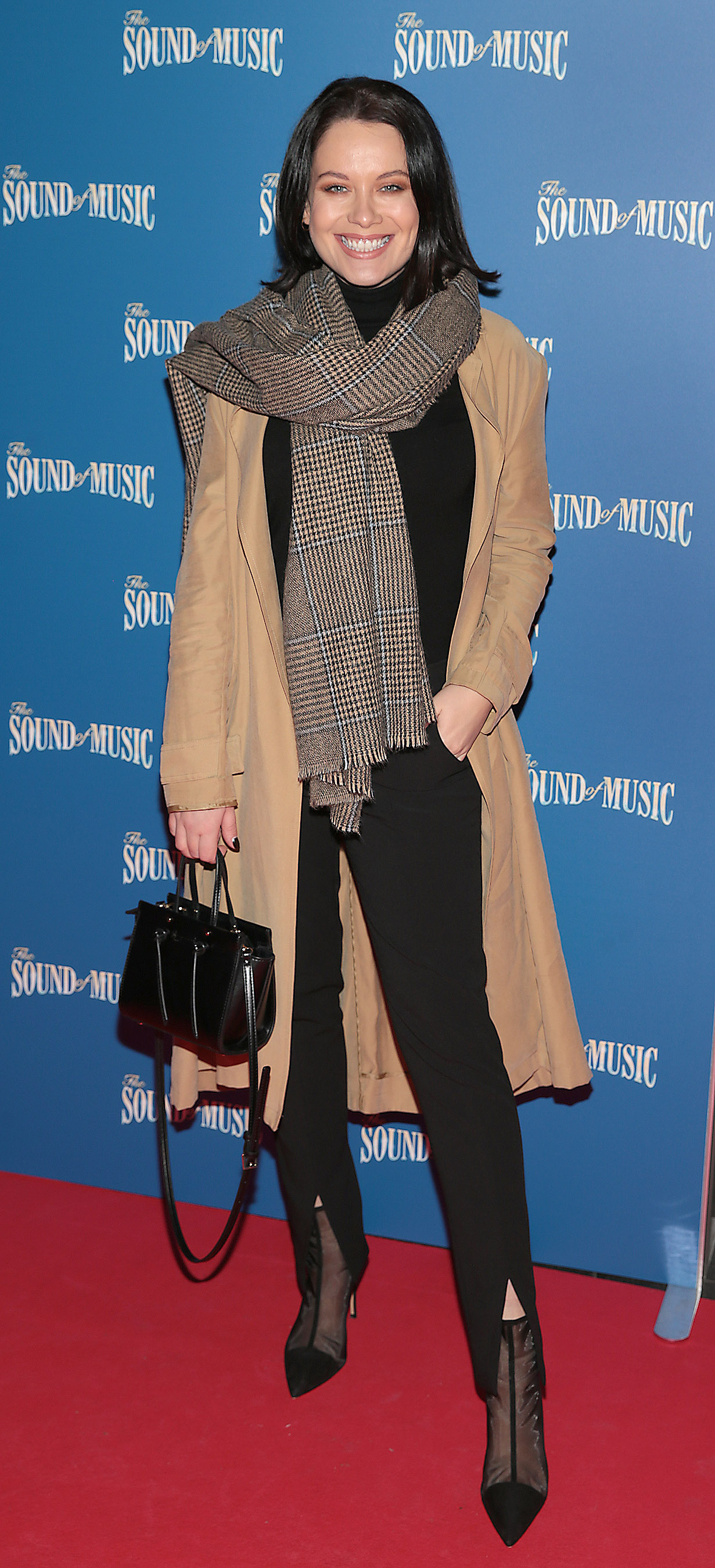 Michelle McGrath pictured at the opening night of The Sound of Music at the Bord Gais Energy Theatre, Dublin. Pic Brian McEvoy