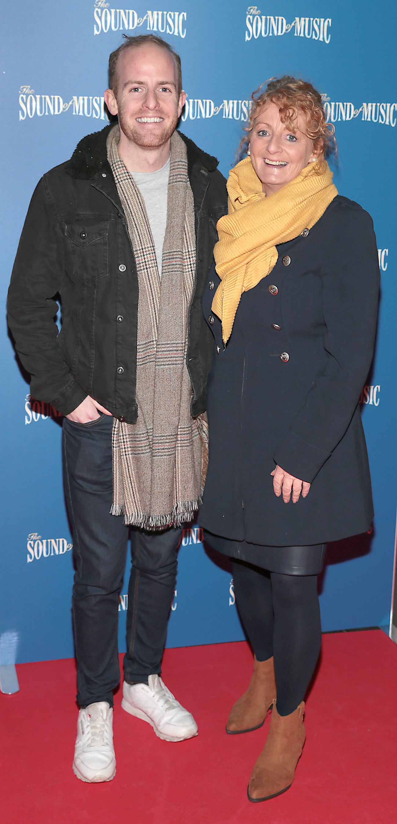 Brendan O Louglin and Ann Cahill pictured at the opening night of The Sound of Music at the Bord Gais Energy Theatre, Dublin. Pic Brian McEvoy