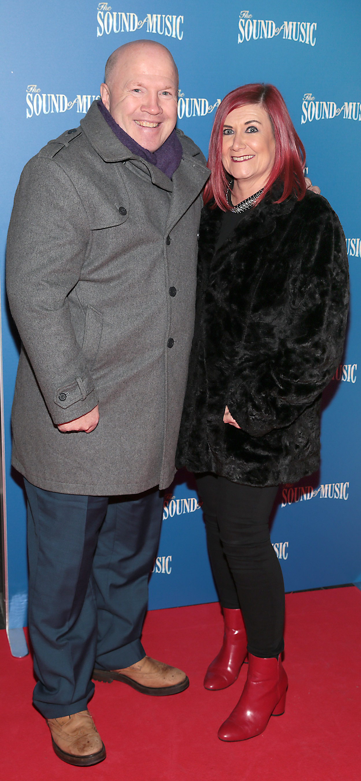 Michael Carruth and Paula Carruth  pictured at the opening night of The Sound of Music at the Bord Gais Energy Theatre, Dublin. Pic Brian McEvoy