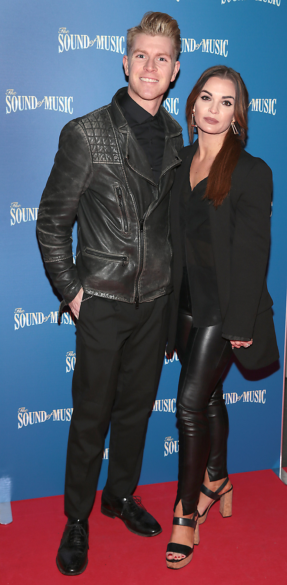 Stephen Vincent and Klyee Vincent pictured at the opening night of The Sound of Music at the Bord Gais Energy Theatre, Dublin. Pic Brian McEvoy