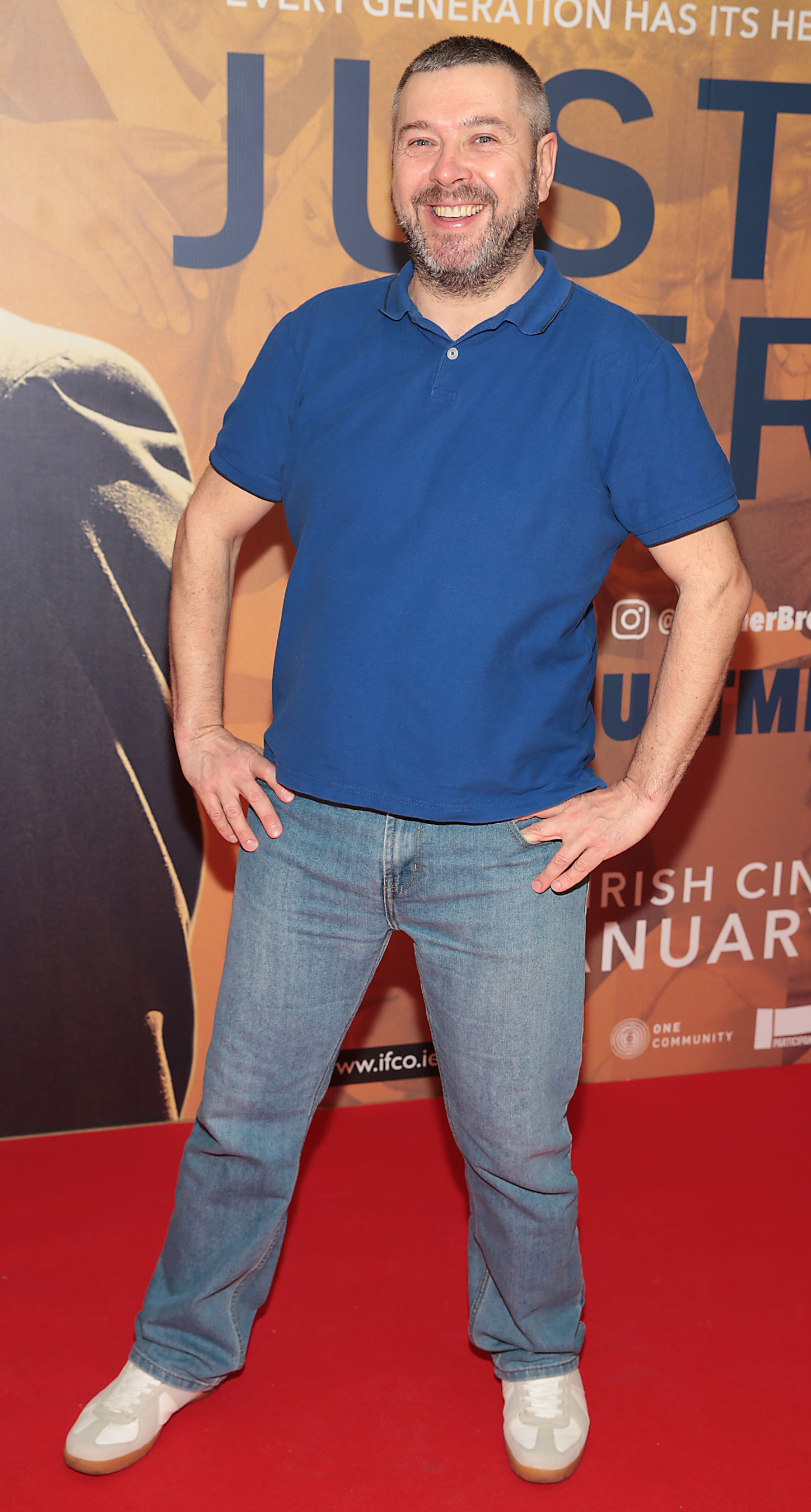 Andy Matuzzska at the special preview screening of Just Mercy at the Lighthouse Cinema, Dublin. Pic Brian McEvoy