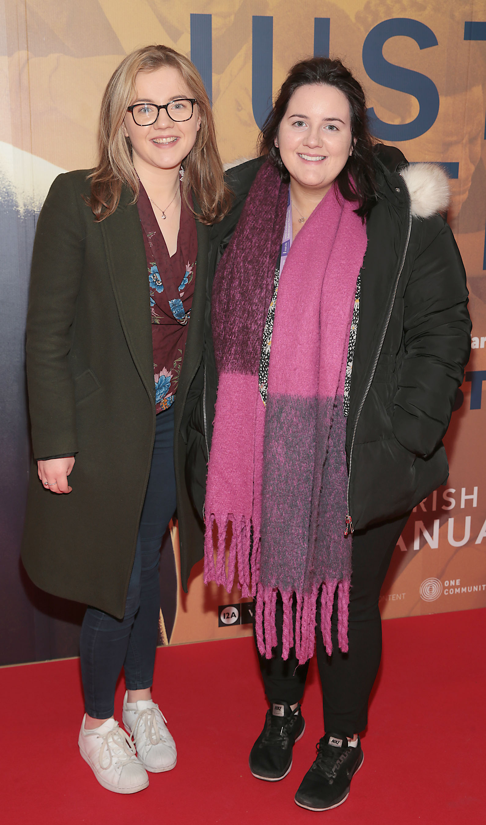 Eimear Hegarty and Orla McMahon at the special preview screening of Just Mercy at the Lighthouse Cinema, Dublin. Pic Brian McEvoy
