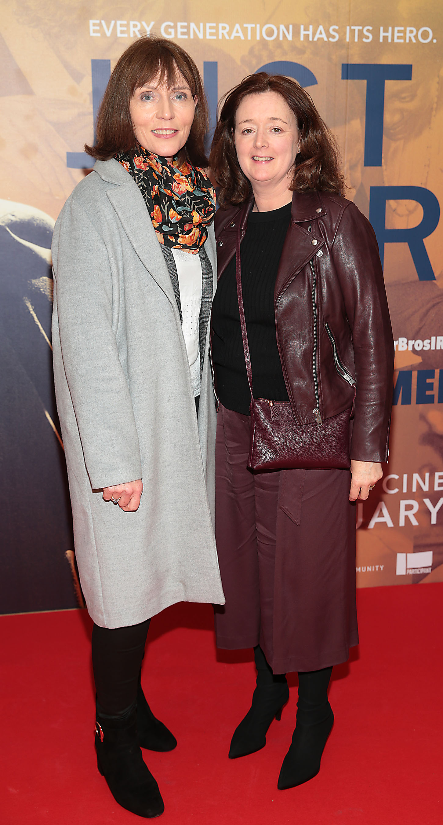 Anne Marie McAuley and Breda Shannon at the special preview screening of Just Mercy at the Lighthouse Cinema, Dublin. Pic Brian McEvoy