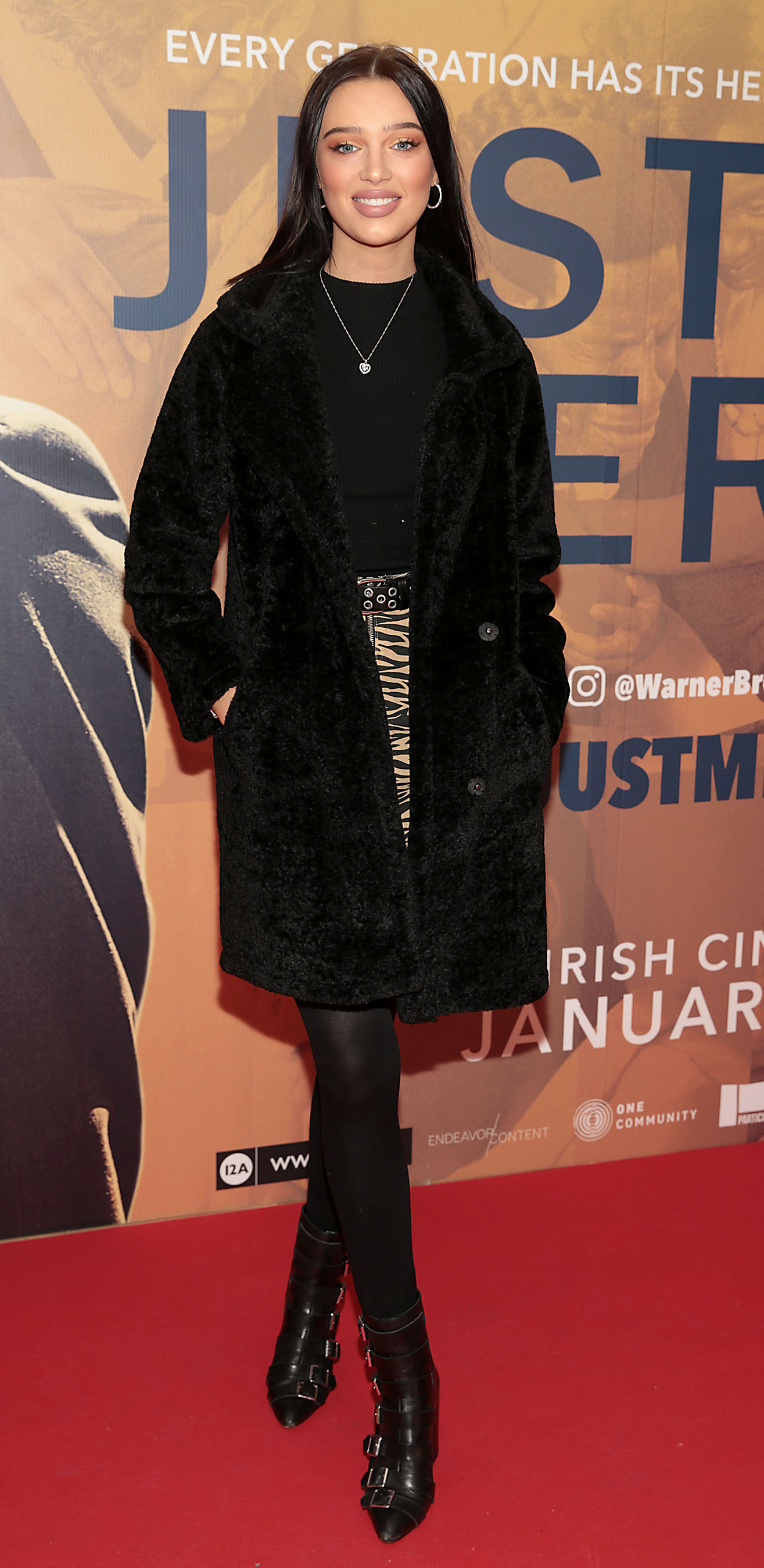 Niamh McCormack at the special preview screening of Just Mercy at the Lighthouse Cinema, Dublin. Pic Brian McEvoy