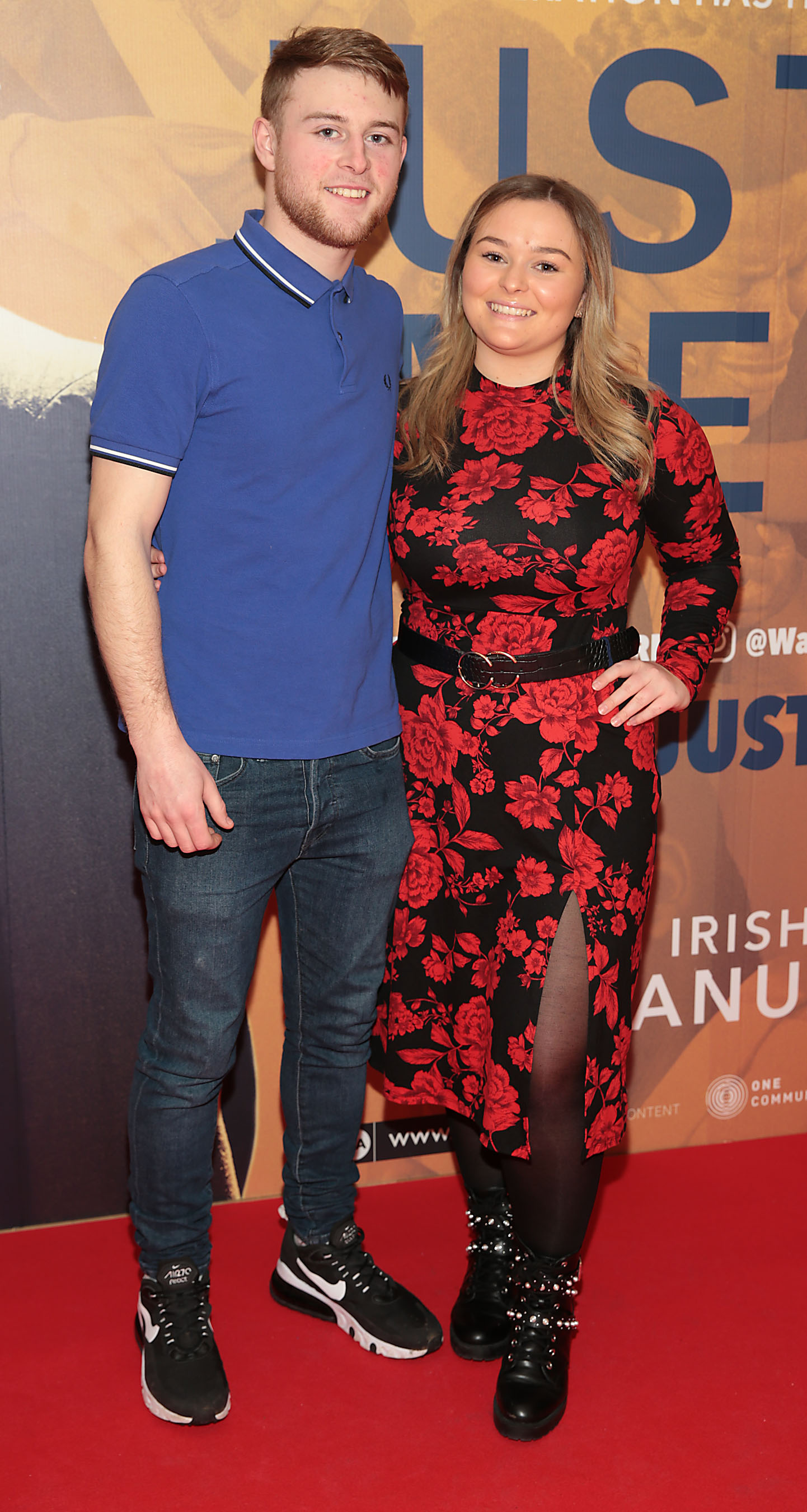 Darren Redmond and Sarah Daly at the special preview screening of Just Mercy at the Lighthouse Cinema, Dublin. Pic Brian McEvoy