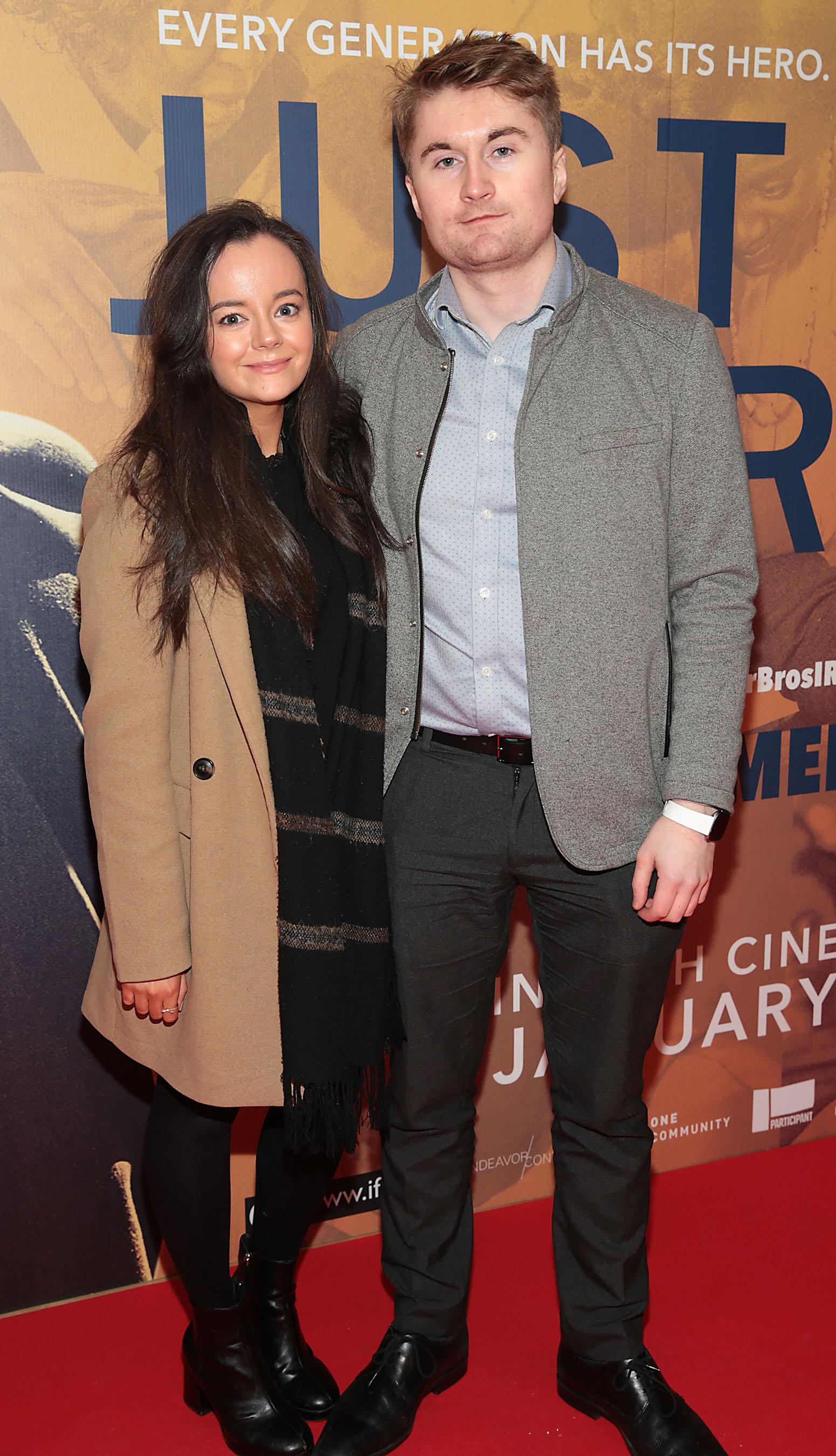 James O Doherty and Daraine Murphy at the special preview screening of Just Mercy at the Lighthouse Cinema, Dublin. Pic Brian McEvoy