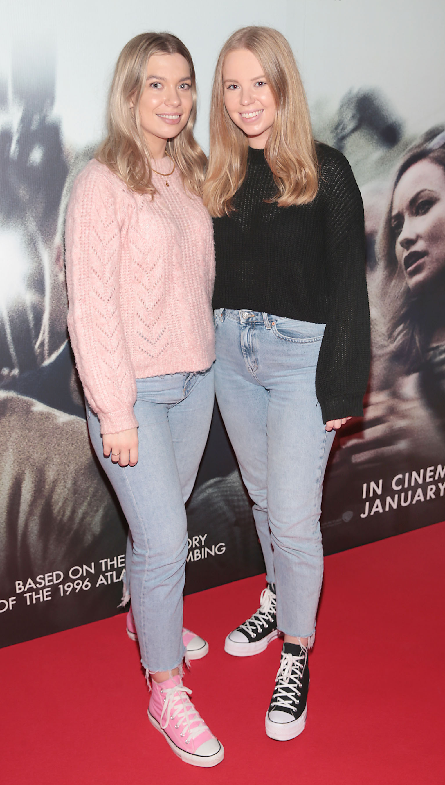 Ashley Mahon and Erica Brown pictured at the special preview screening of Richard Jewell at Cineworld, Dublin. Pic: Brian McEvoy