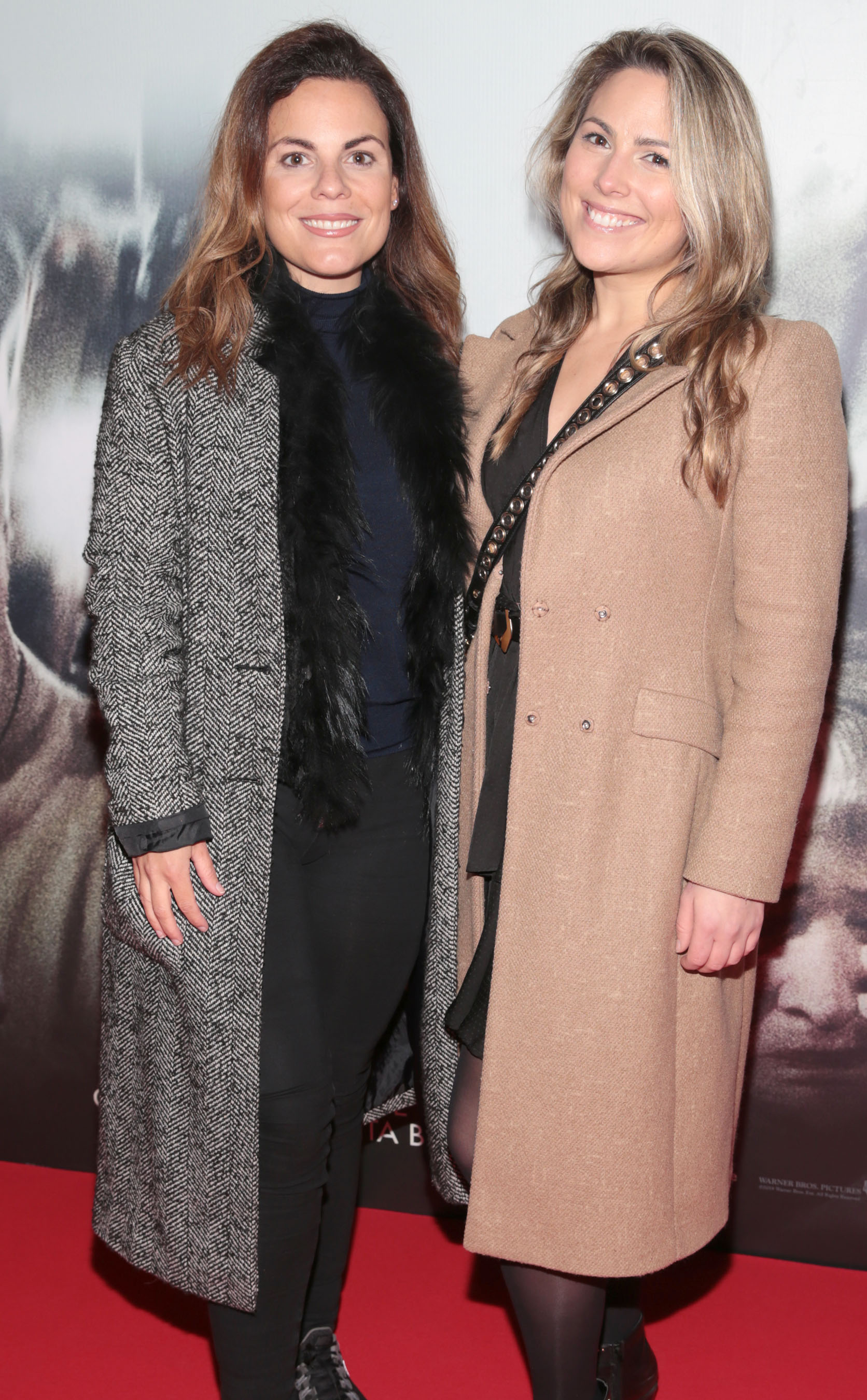 Avila Lipsett and Chloe Townsend pictured at the special preview screening of Richard Jewell at Cineworld, Dublin. Pic: Brian McEvoy