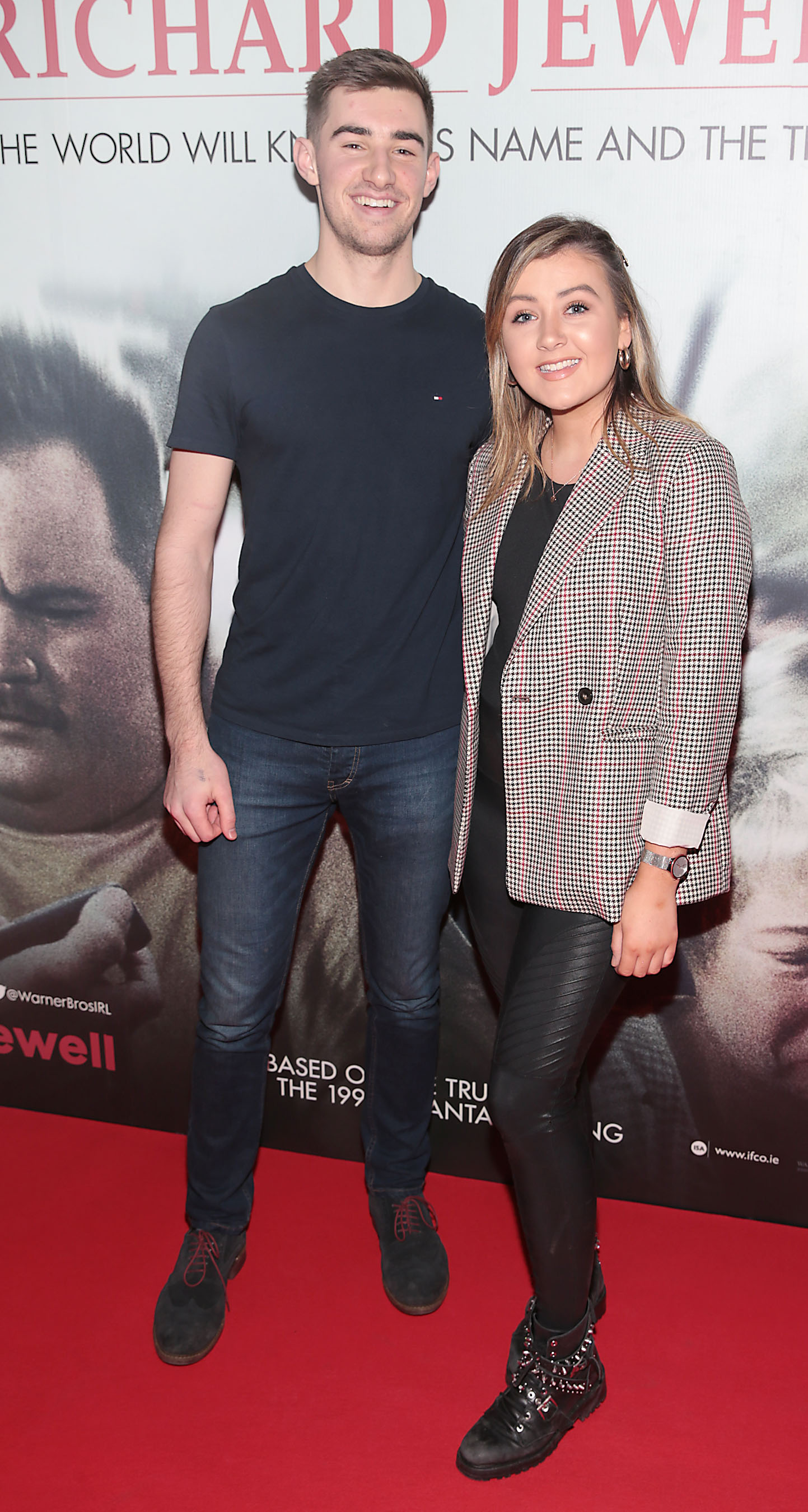 Peter Fagan and Niobh Farrell pictured at the special preview screening of Richard Jewell at Cineworld, Dublin. Pic: Brian McEvoy