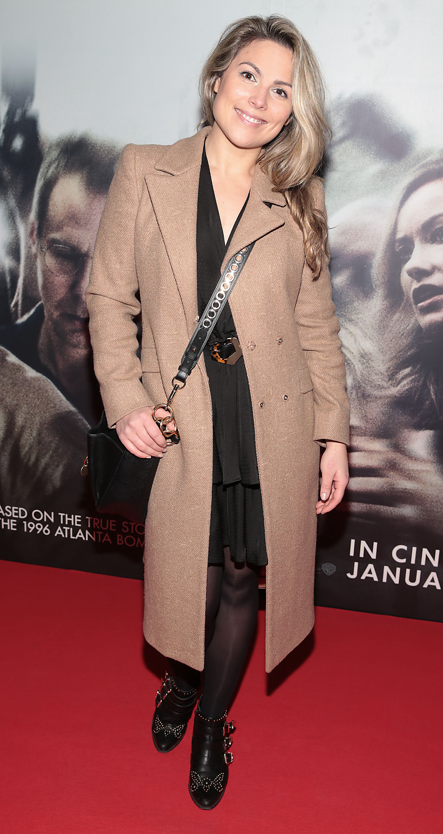 Chloe Townsend pictured at the special preview screening of Richard Jewell at Cineworld, Dublin. Pic: Brian McEvoy