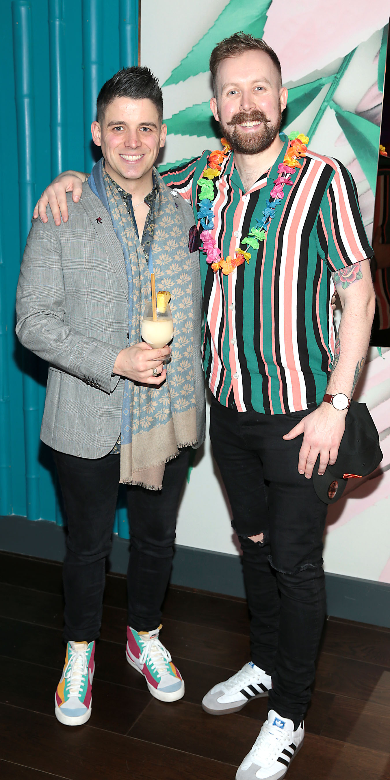 Doug Leddin and Will Lynch pictured at the opening of Ohana in Harcourt Street, Dublin. Pic: Brian McEvoy