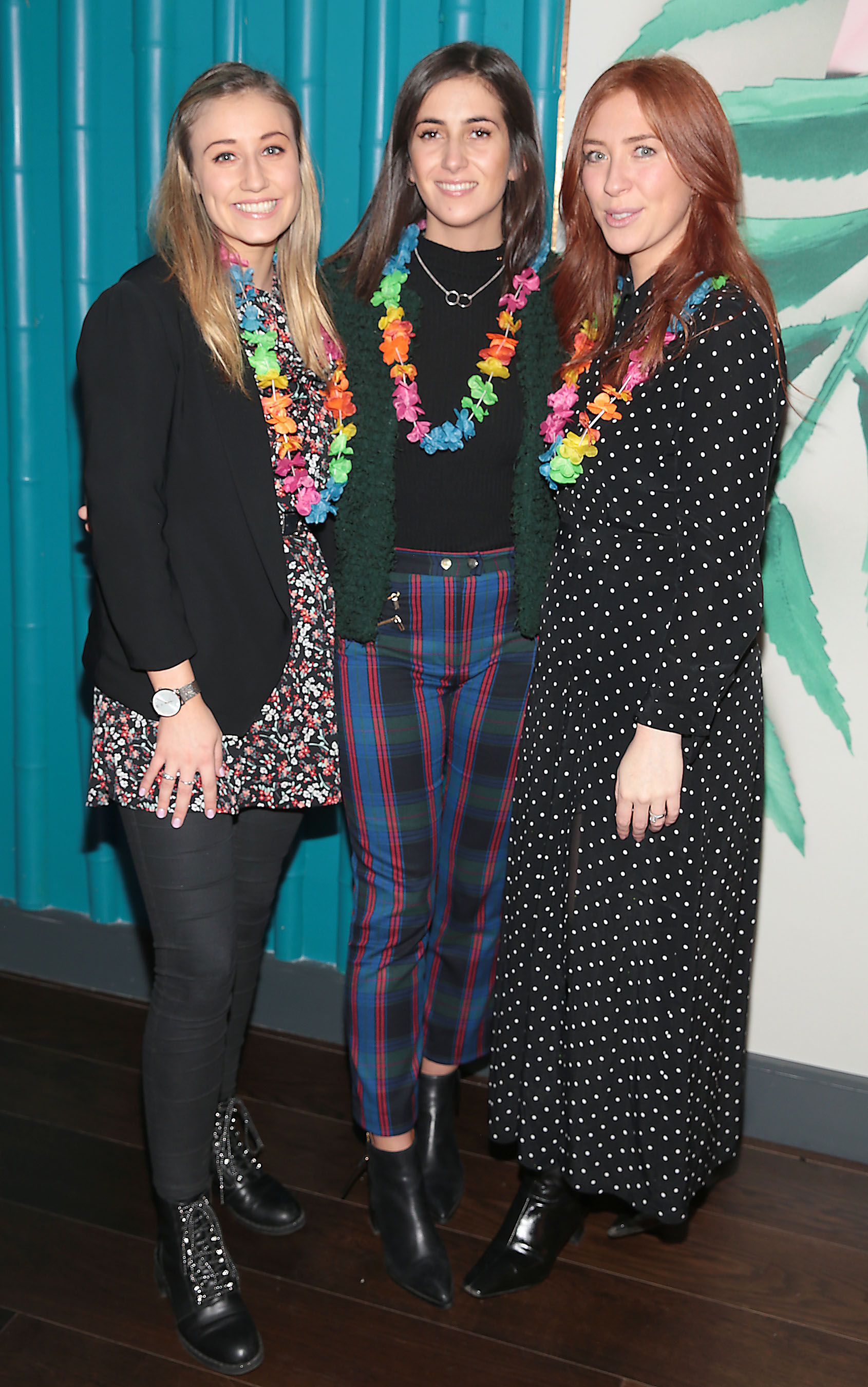 FiFi Heather,Sara Ryan and Jane Neenan pictured at the opening of Ohana in Harcourt Street, Dublin. Pic: Brian McEvoy