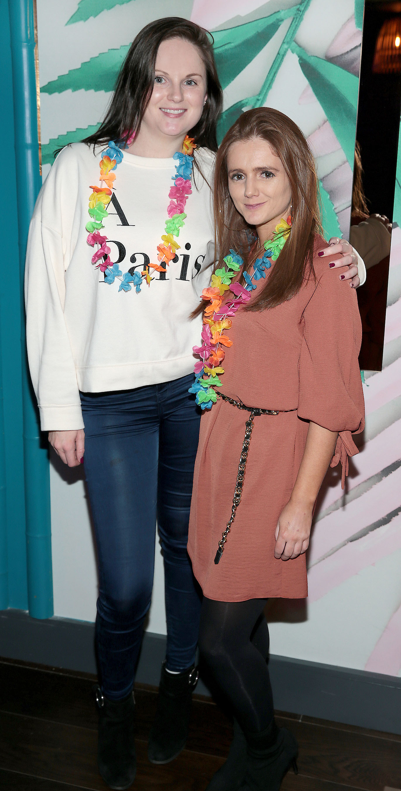Siobhan Cope and Amy Cope pictured at the opening of Ohana in Harcourt Street, Dublin. Pic: Brian McEvoy